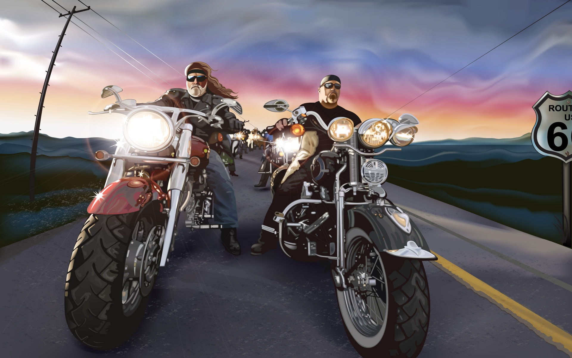 Biker Desktop Bikers Photo HD wallpapers