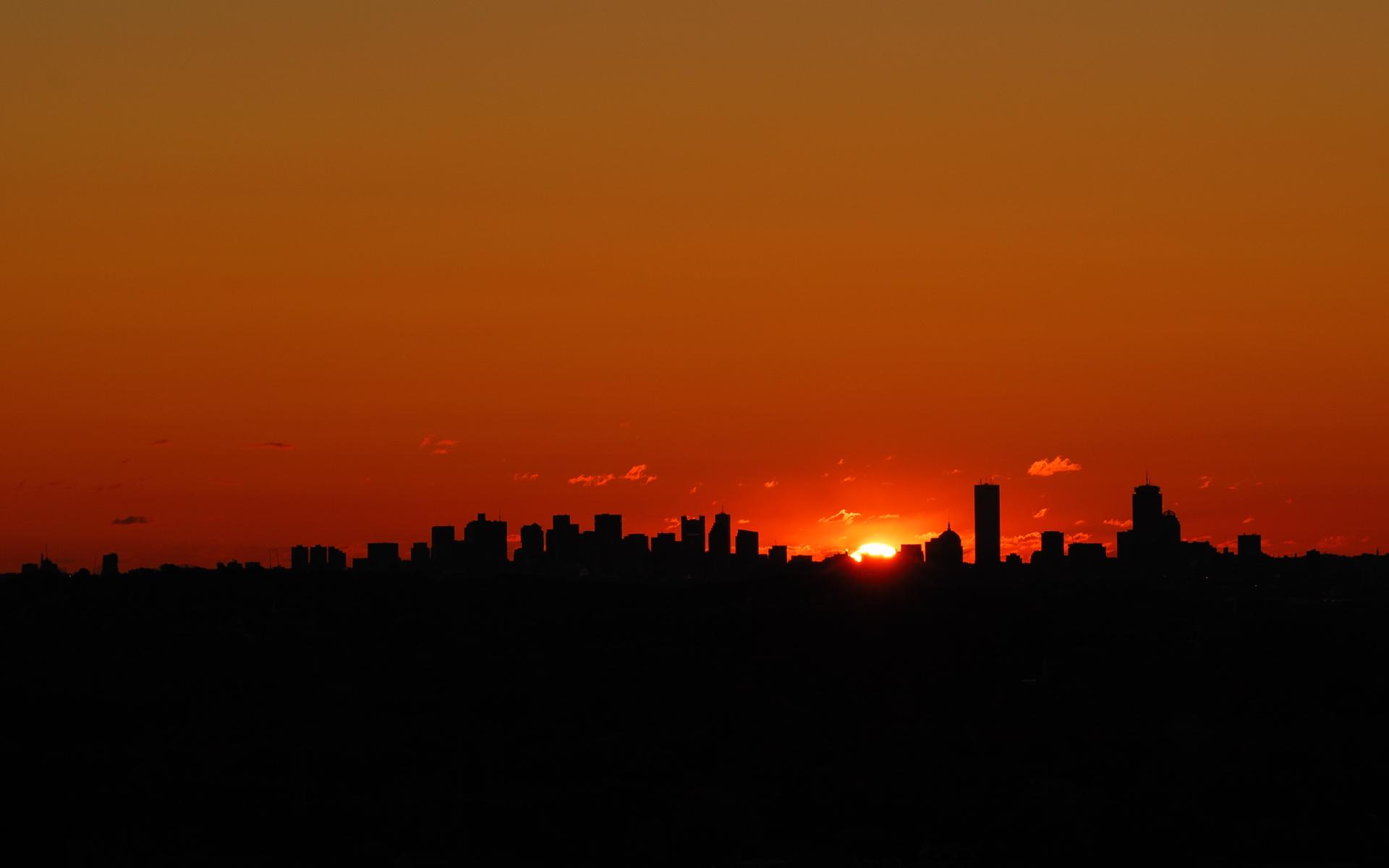 city sunset wallpaper 7106 - photo #18