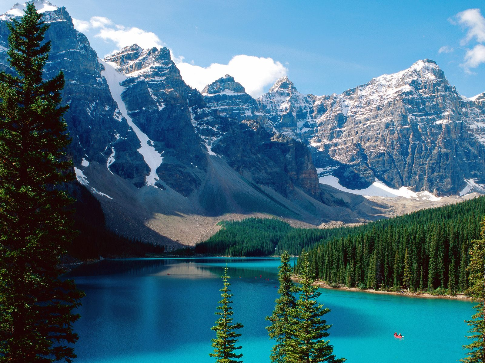 Moraine Lake Banff National Park Canada - Polling 4 Cyber Shots Competition OCT 2010