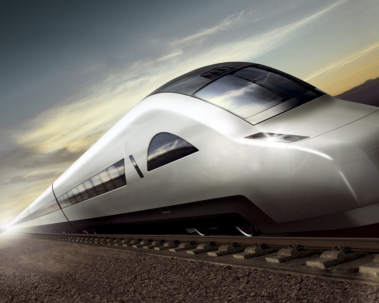 Fast train wallpapers