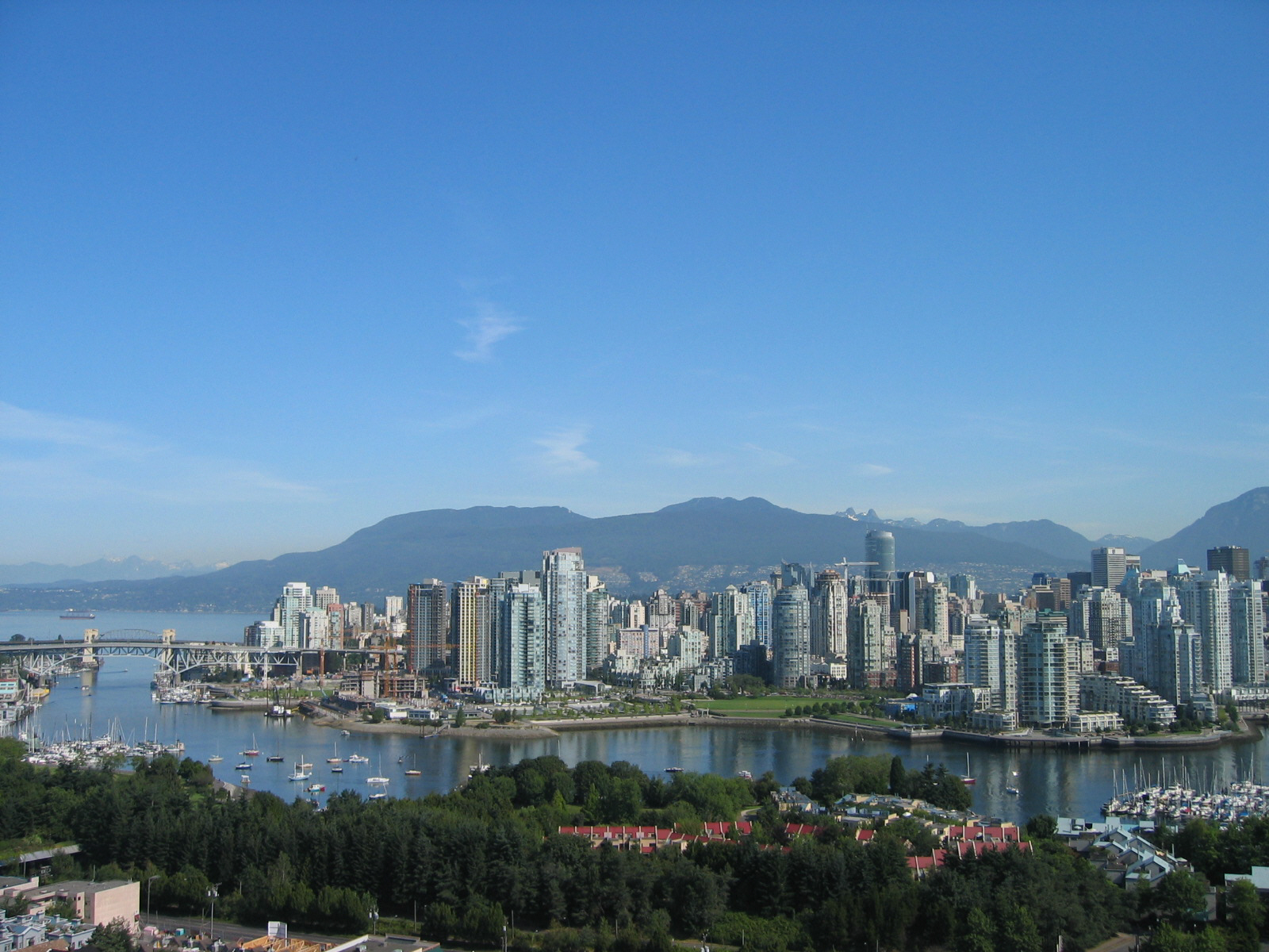 vancouver skyline wallpapers widescreen - photo #20