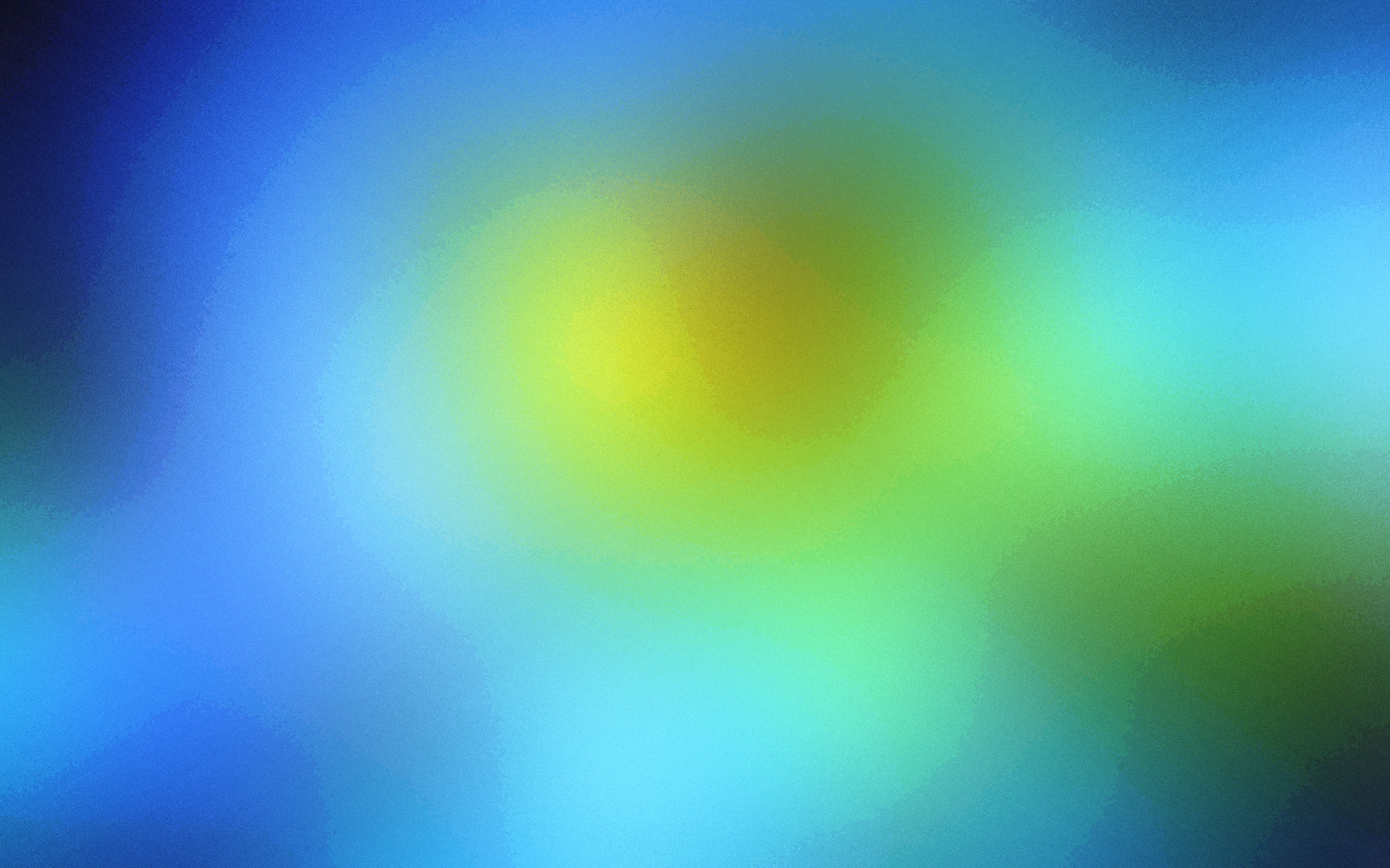 green yellow blue