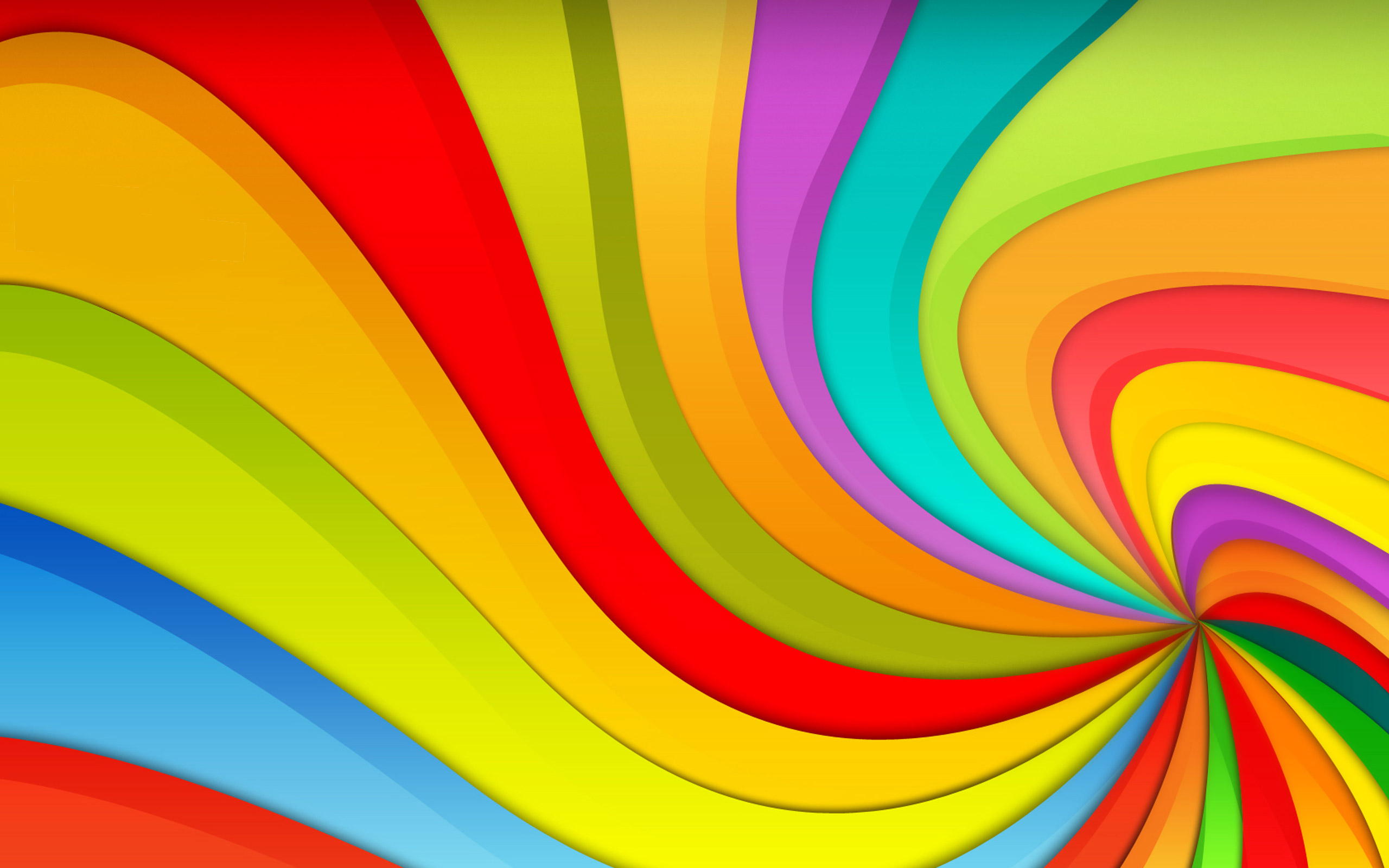 Rainbow WallpapersBright Rainbow Wallpaper