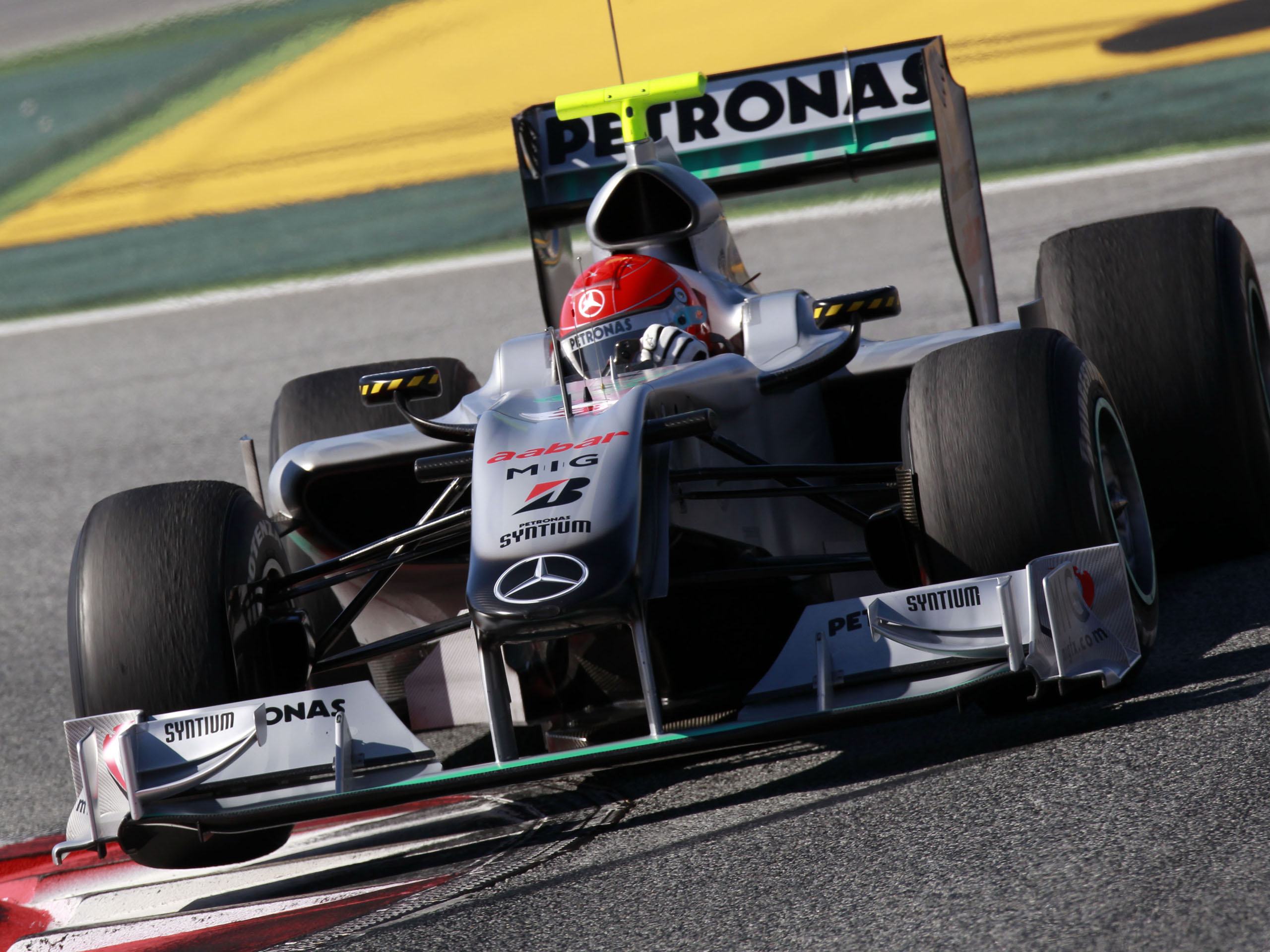 Schumacher Mercedes F1 Full Hd Wallpaper: Michael Schumacher In Mercedes GP