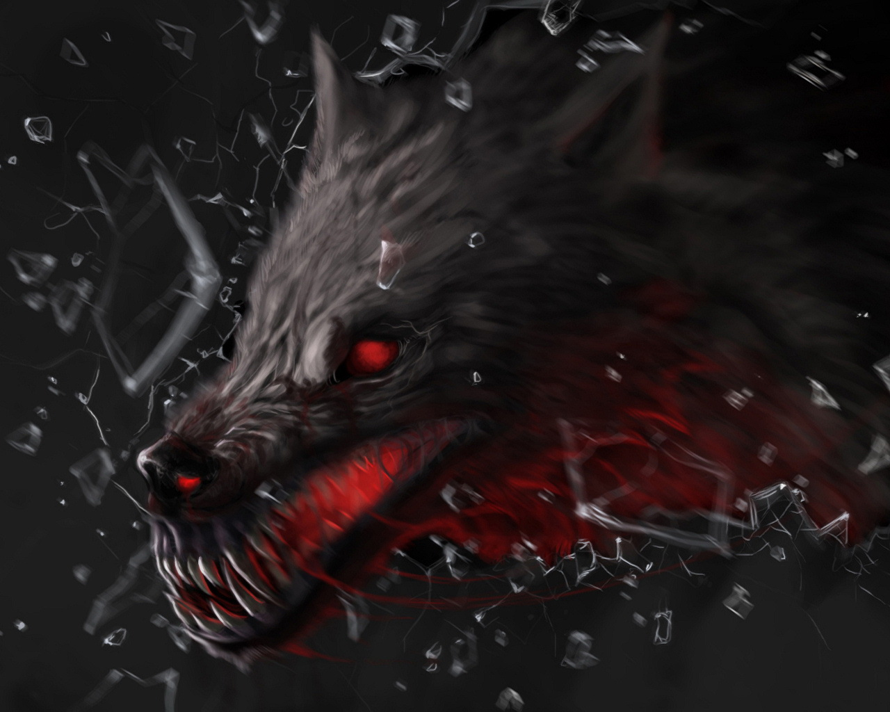 beast wolf wallpaper art - photo #1