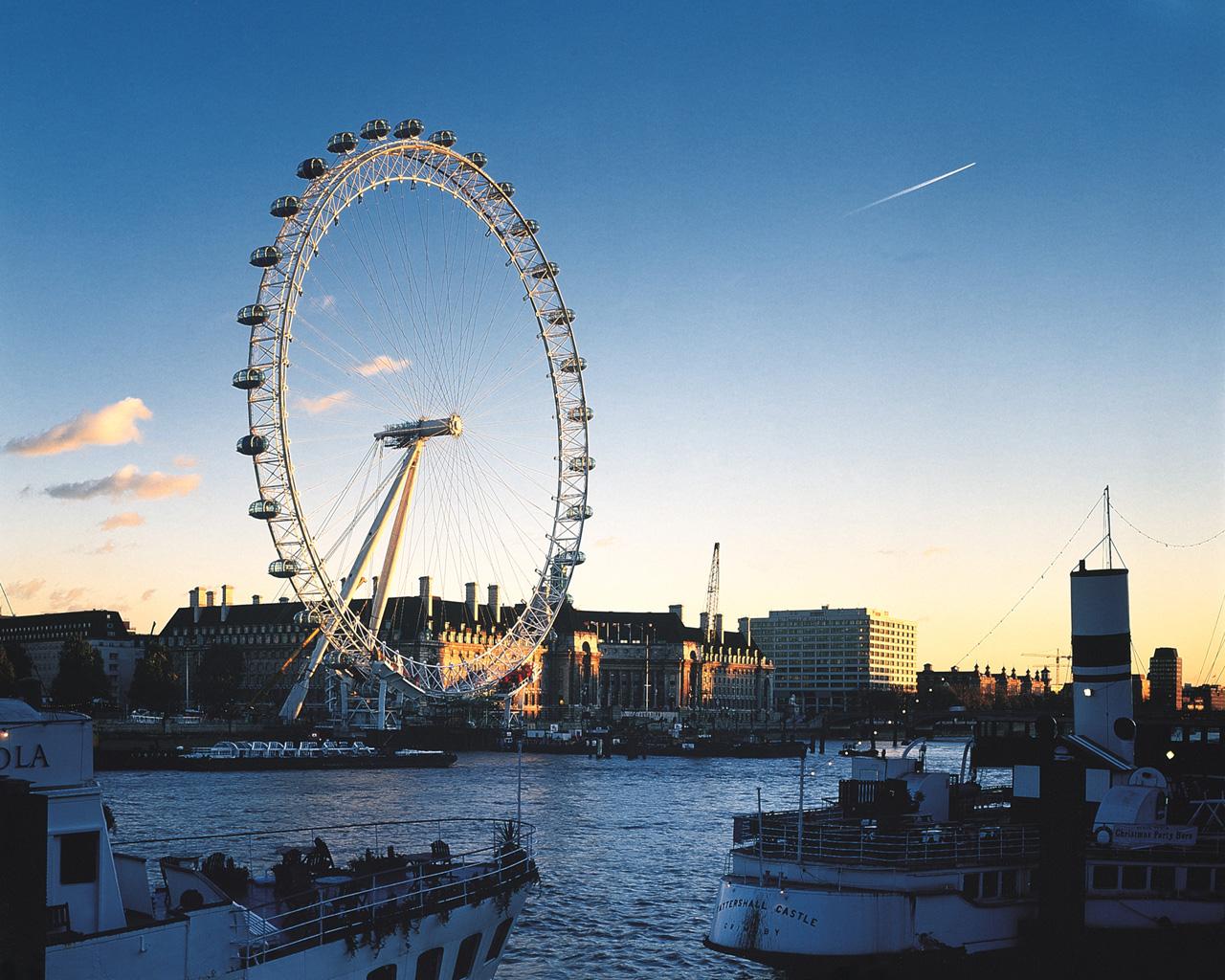 London Sherlock Wallpaper London Eye 1