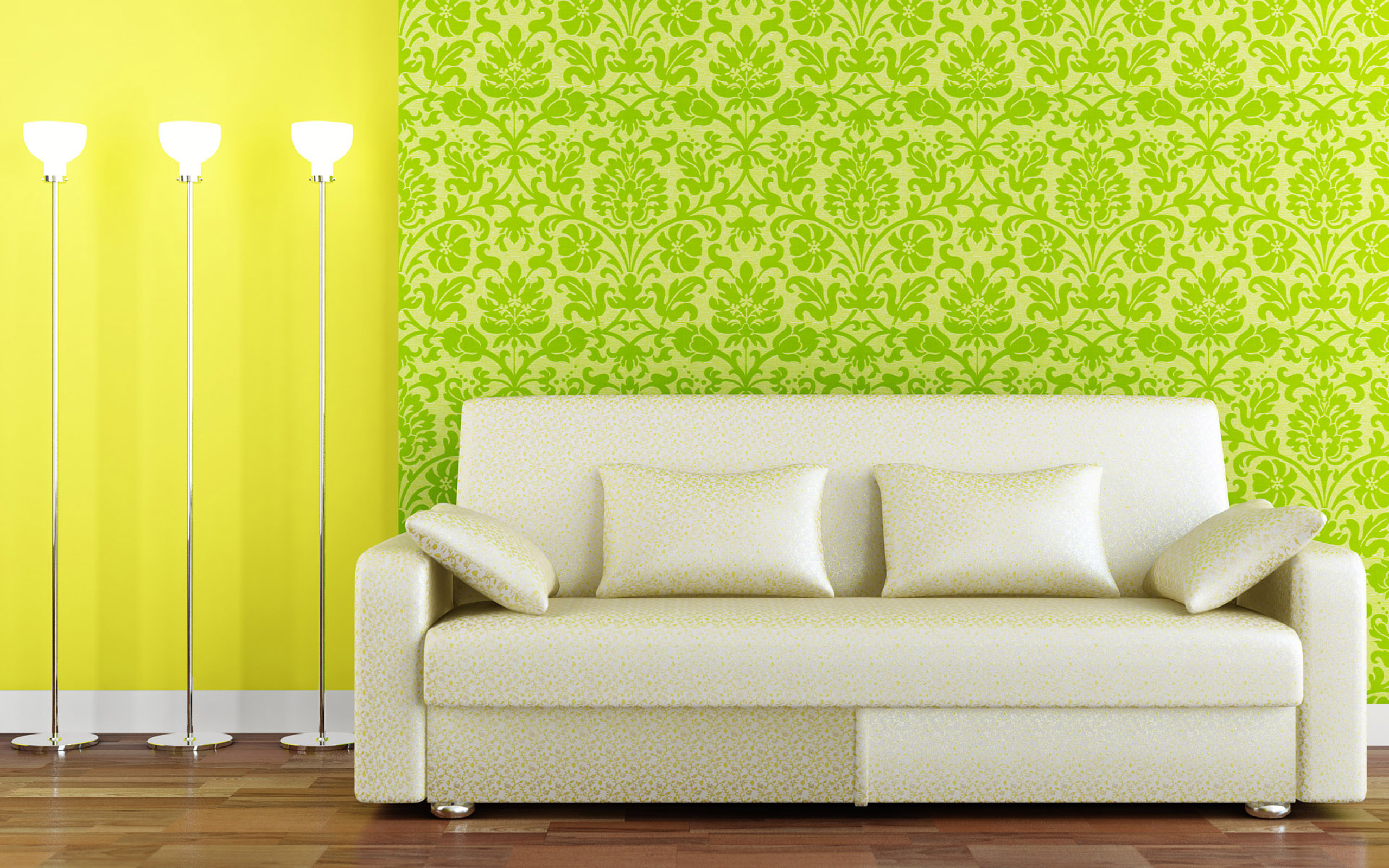 green colaborate with yellow