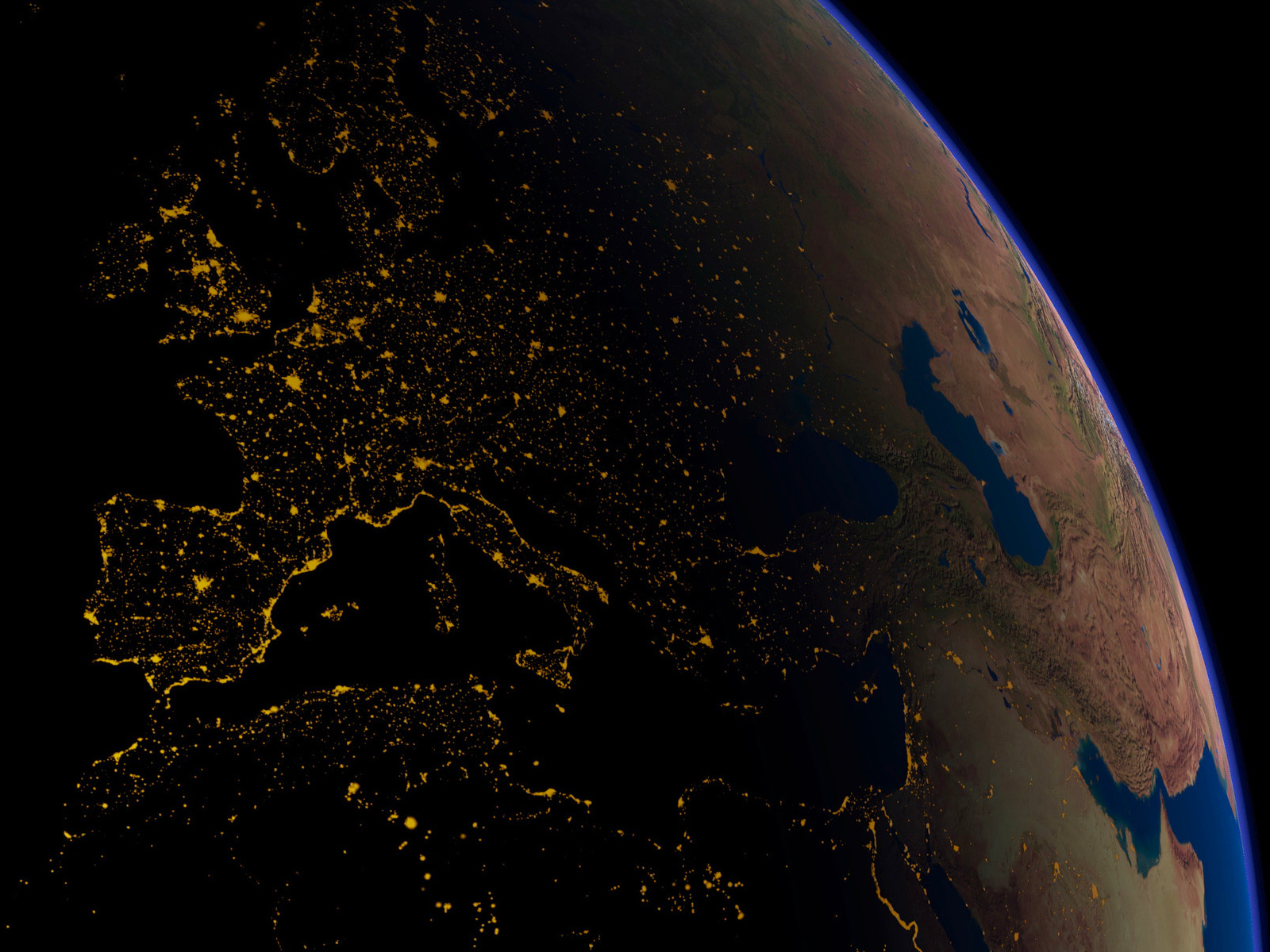 Earth at Night 30 Photos from Space TwistedSifter