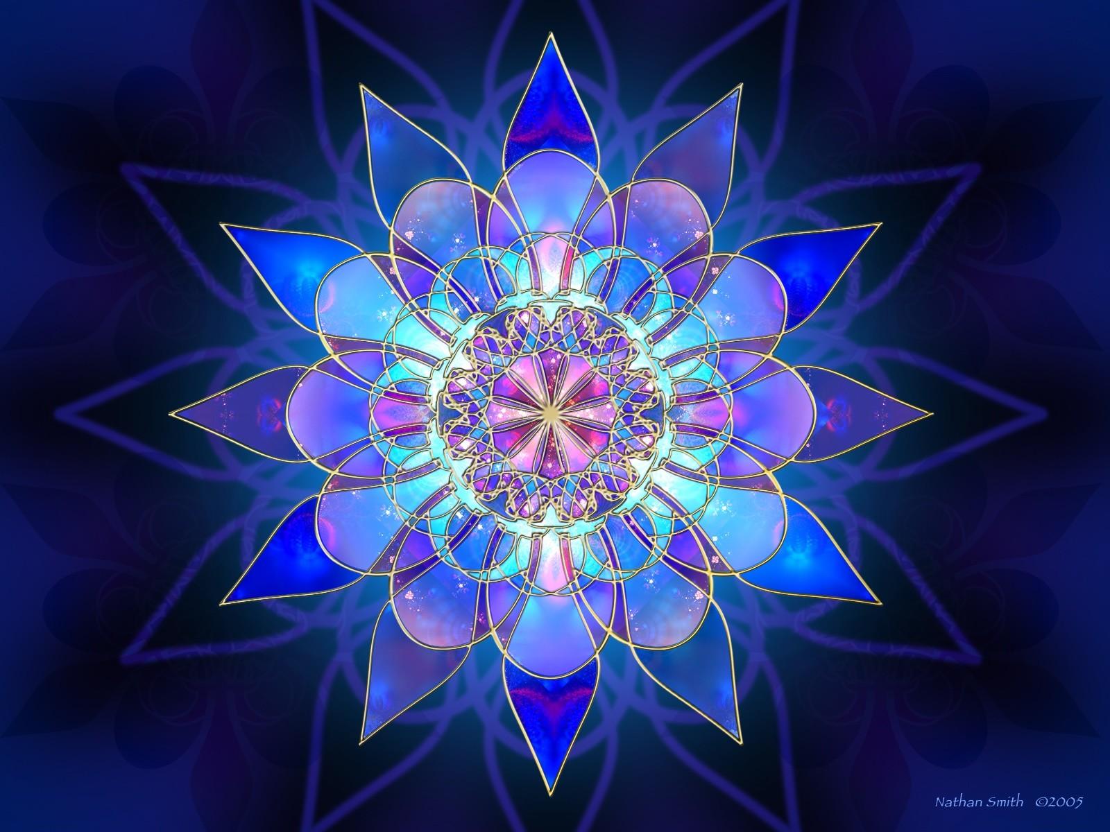 Cosmic Fantasy Fractal Blacklight: Fractal