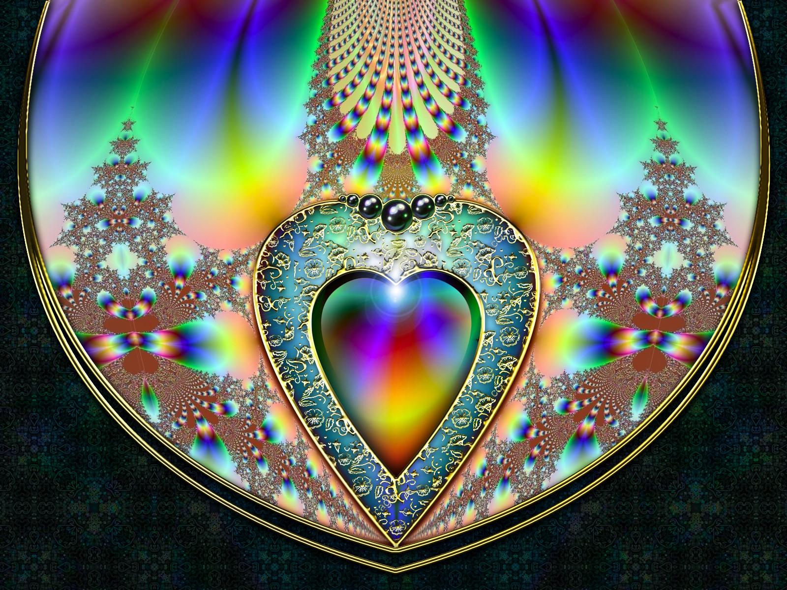 rainbow fractal wallpaper - photo #20
