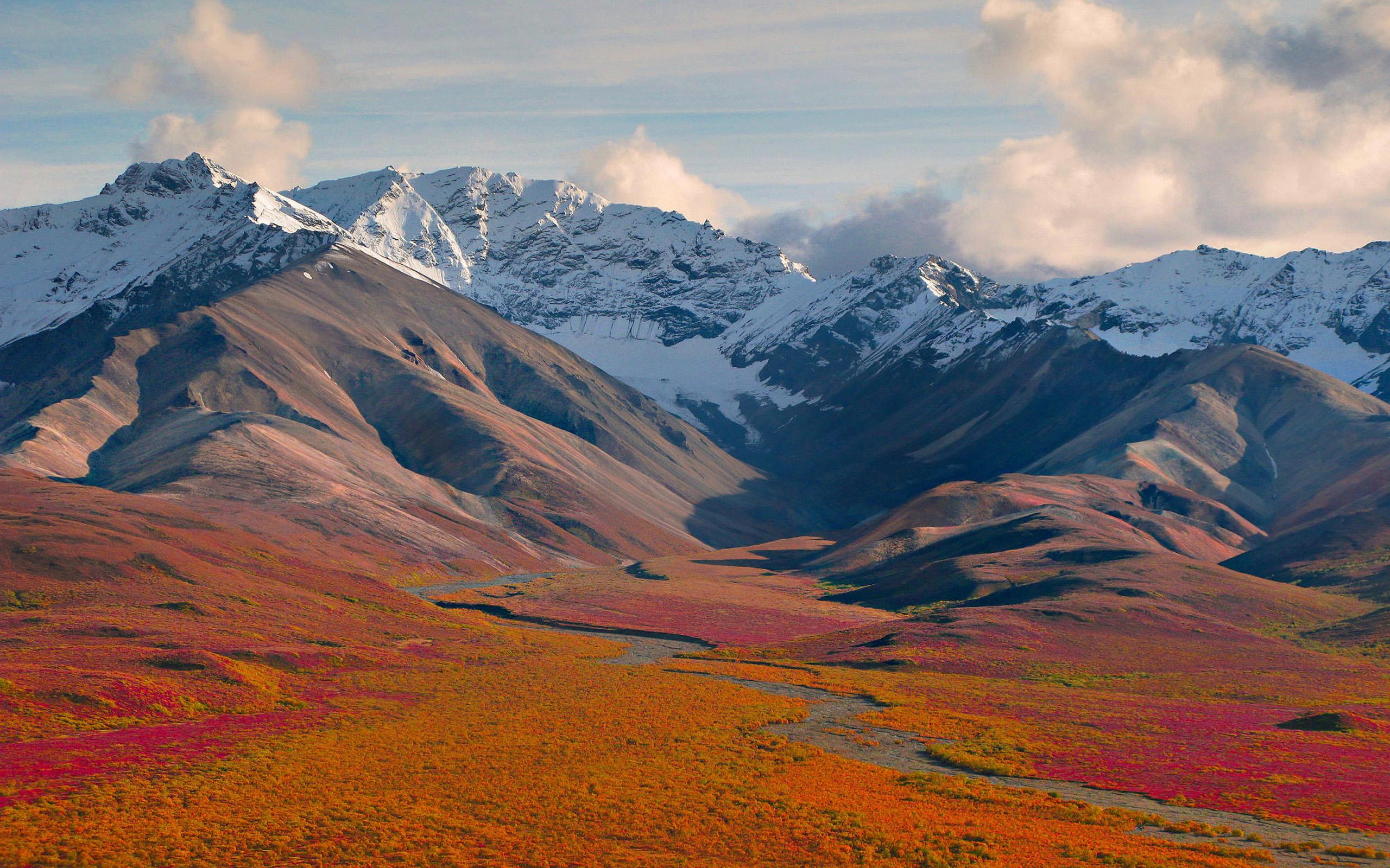 Alaskan Sunrise, Denali National Park скачать