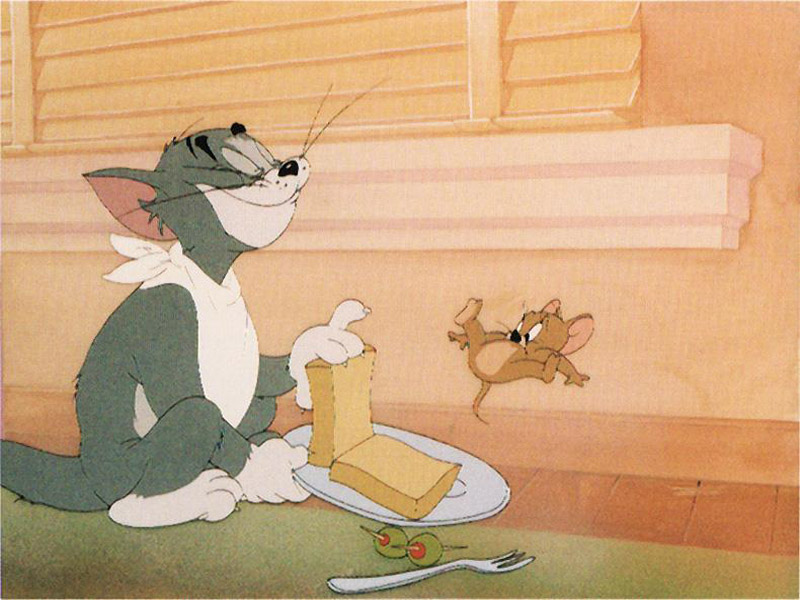 tom and jerry wallpapers. Tom And Jerry - Lunch