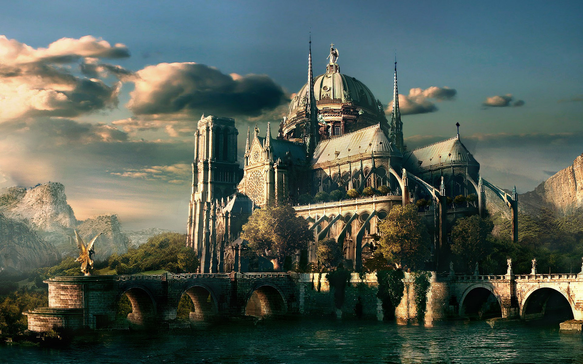 Fantasy World Wallpaper 8389