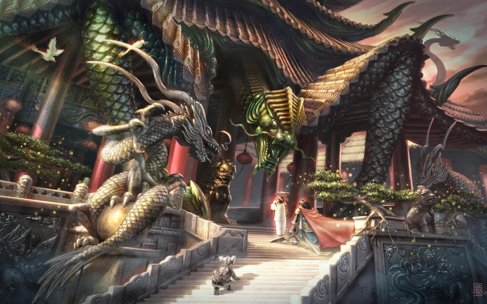 Fantasy Resolution Dragon Photo Wallpapers Desktop 1920x1200