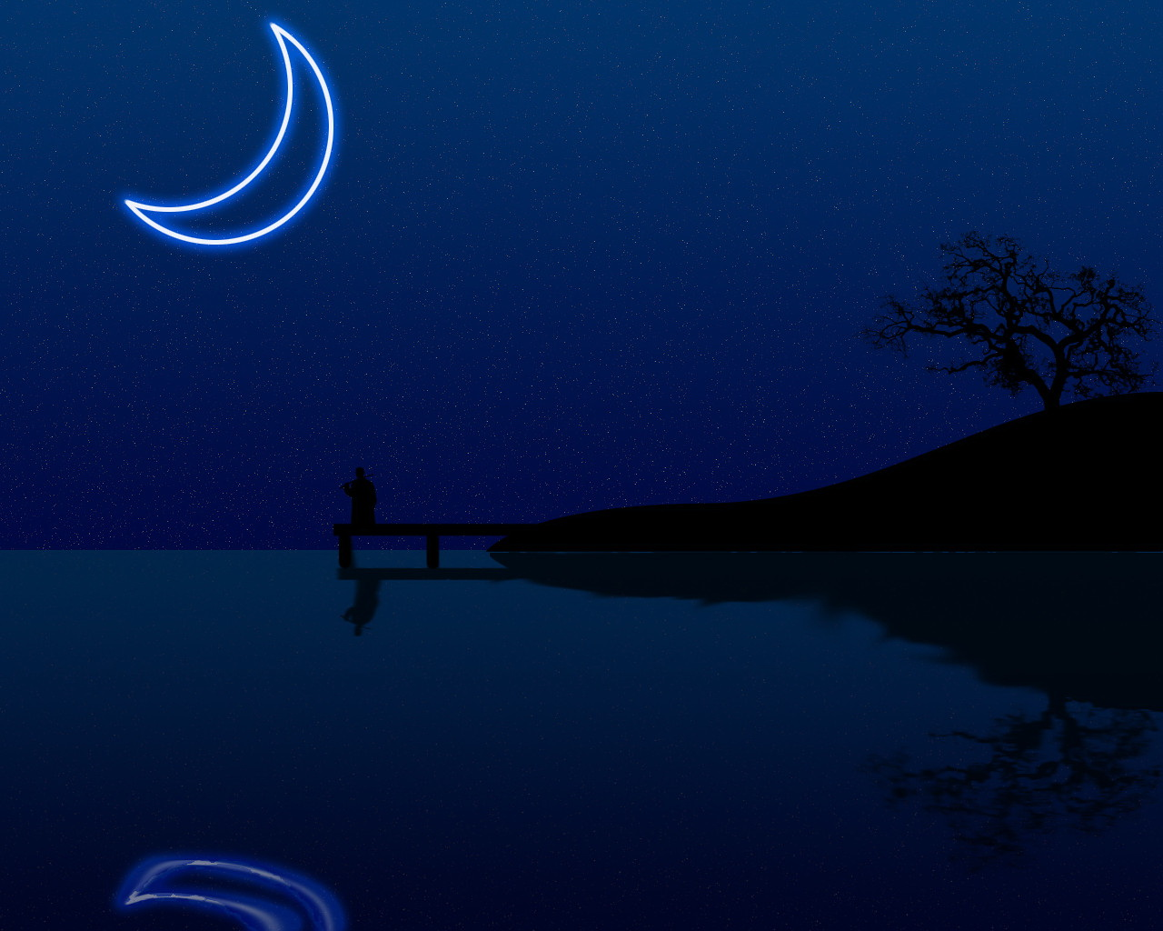 Wonderful Wallpaper Night Cartoon - night-moon  Collection.jpg