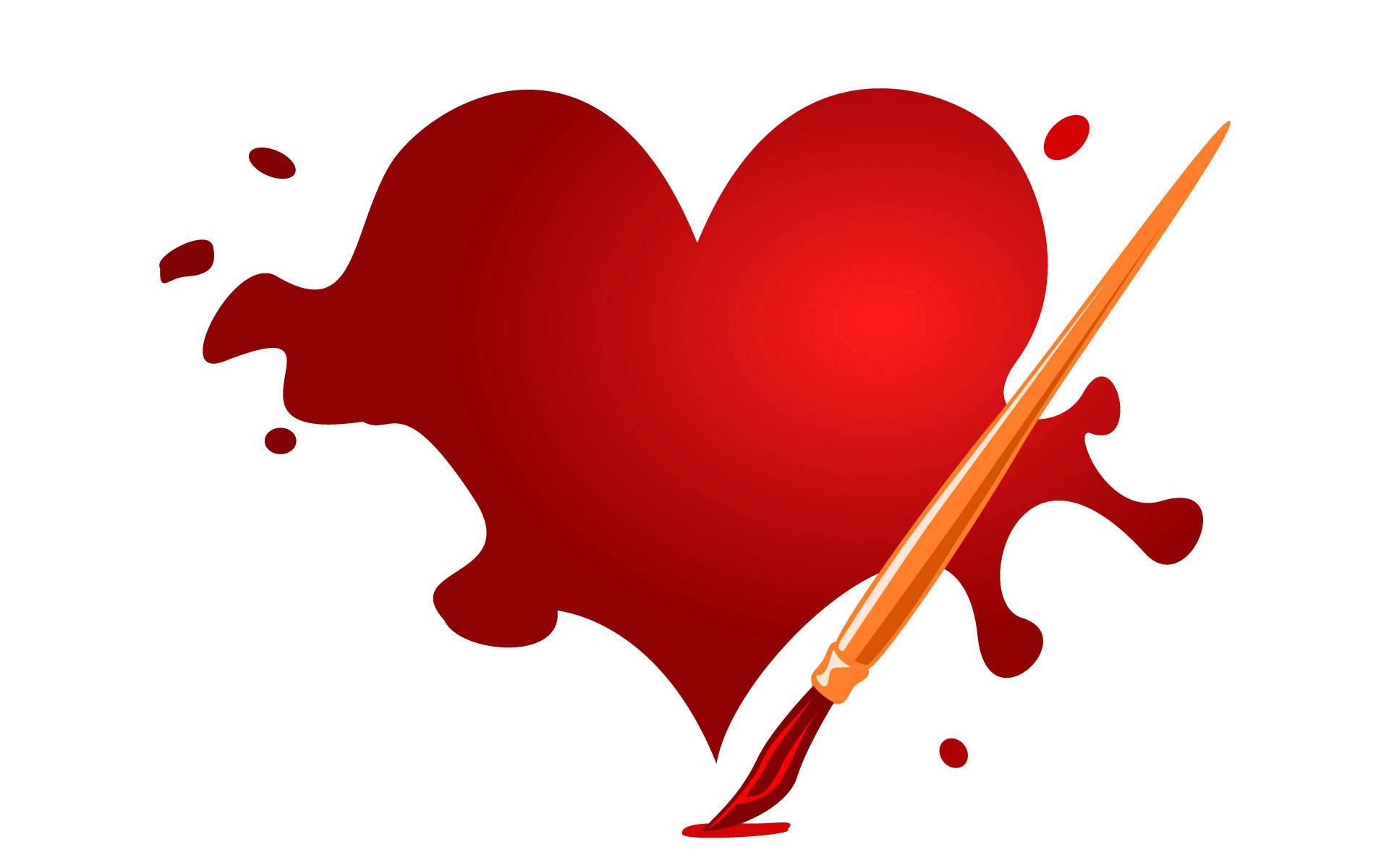 heart, desktop, wallpaper, background, artwork, photo, wallpapers ...