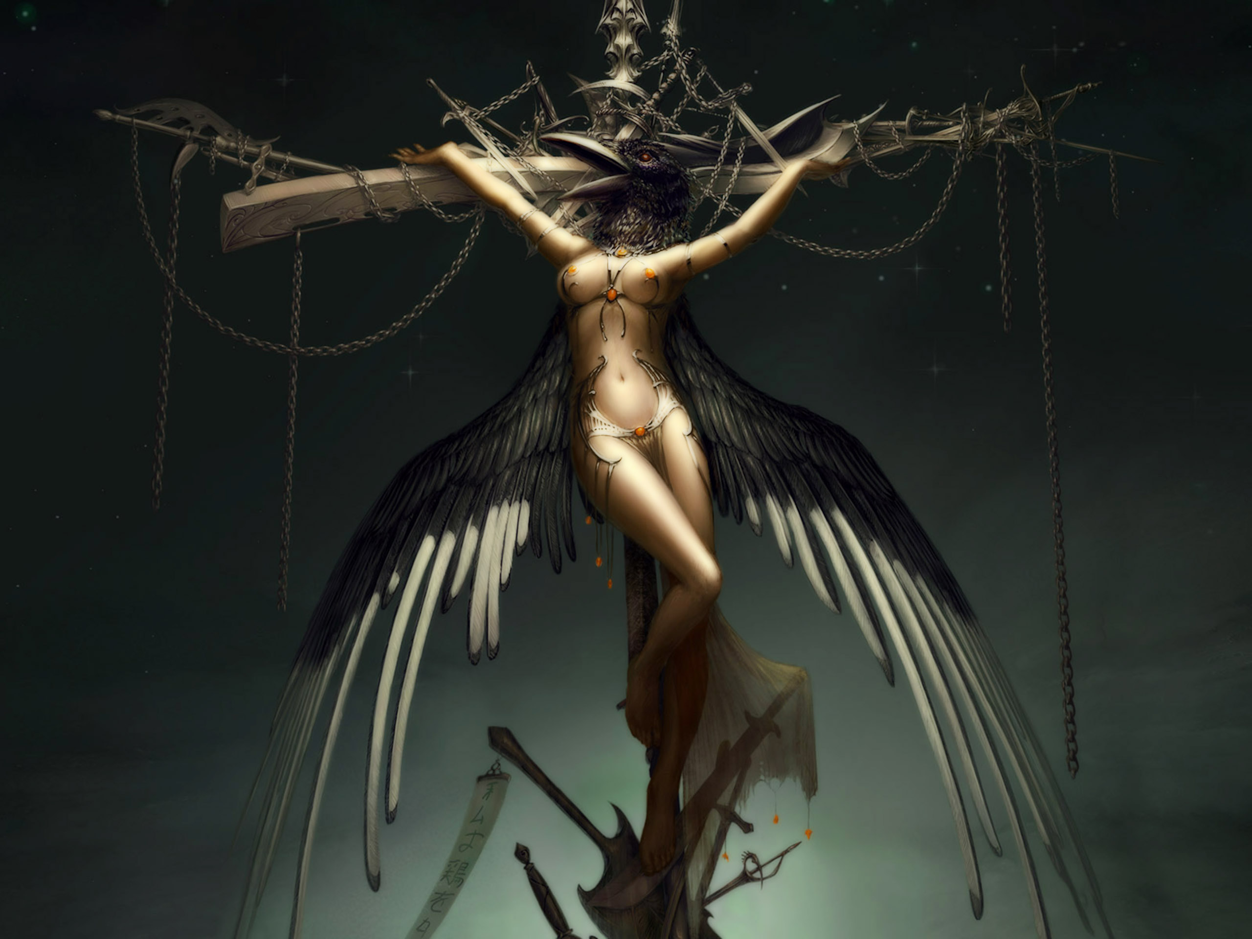 crucifixion valkyr free desktop wallpapers for widescreen hd