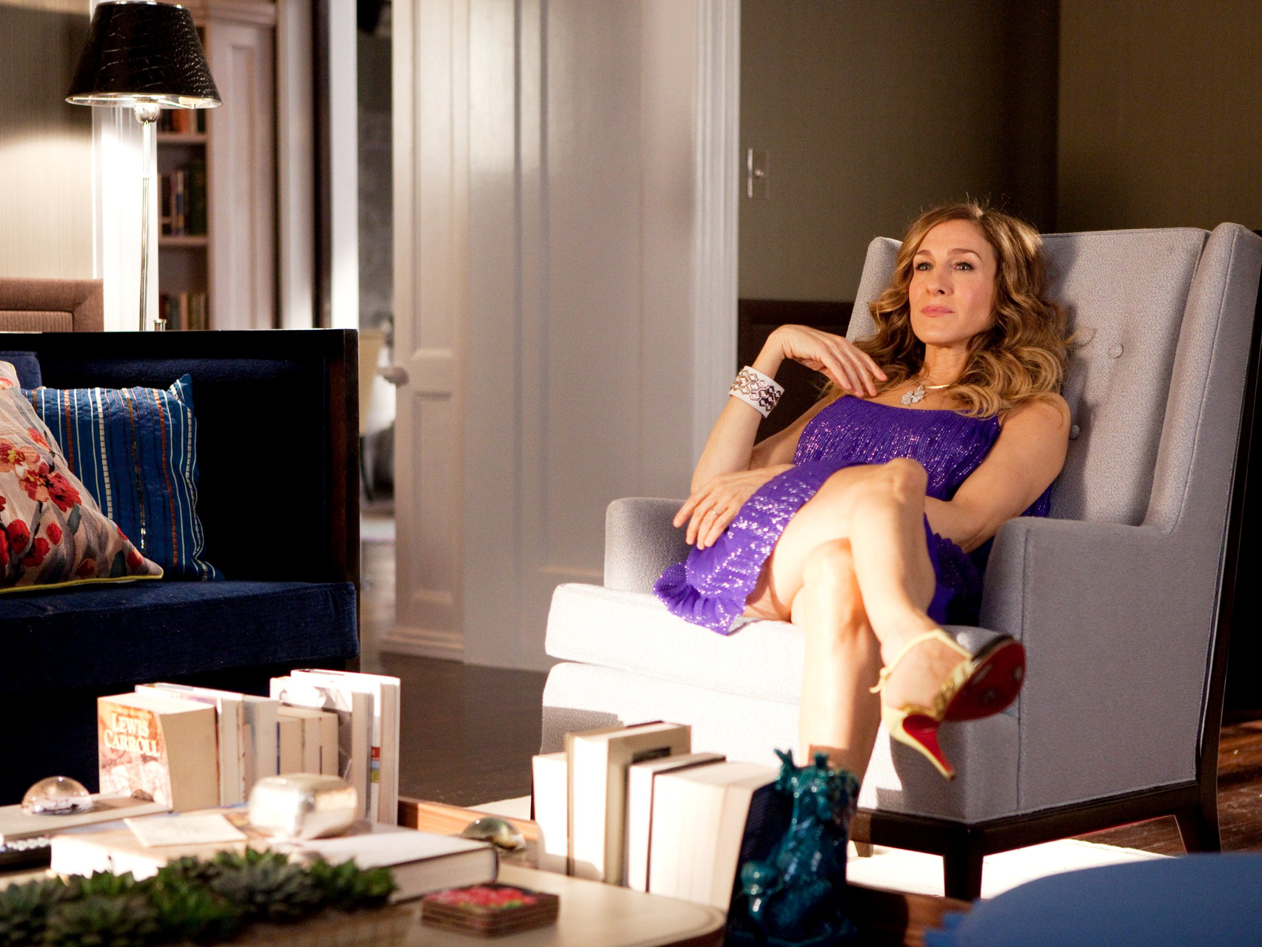 Sarah Jessica Parker stars as Carrie Bradshaw in Sex and the City 2.