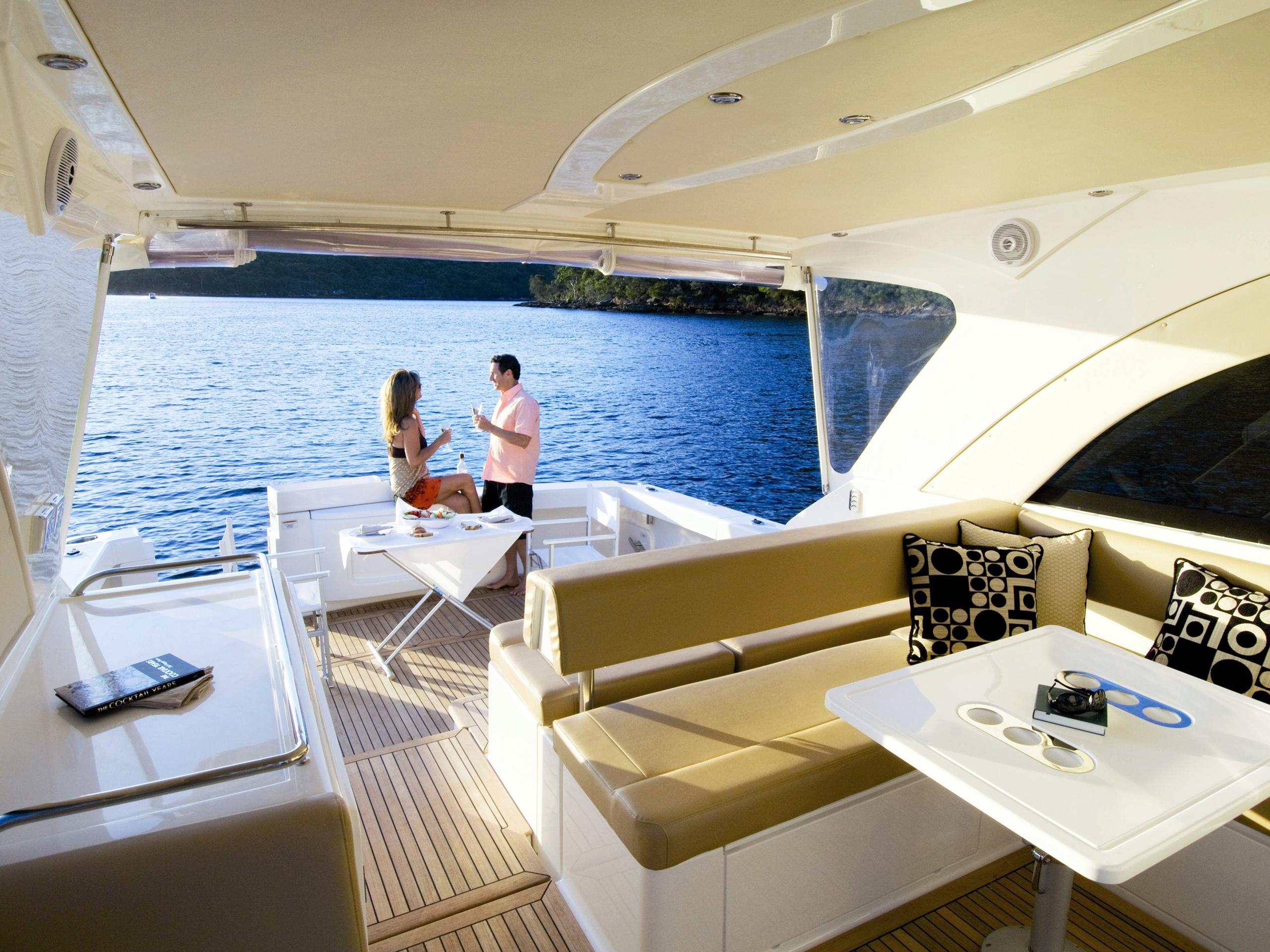 Motor Yacht Power Boat Luxury Lifestyle12