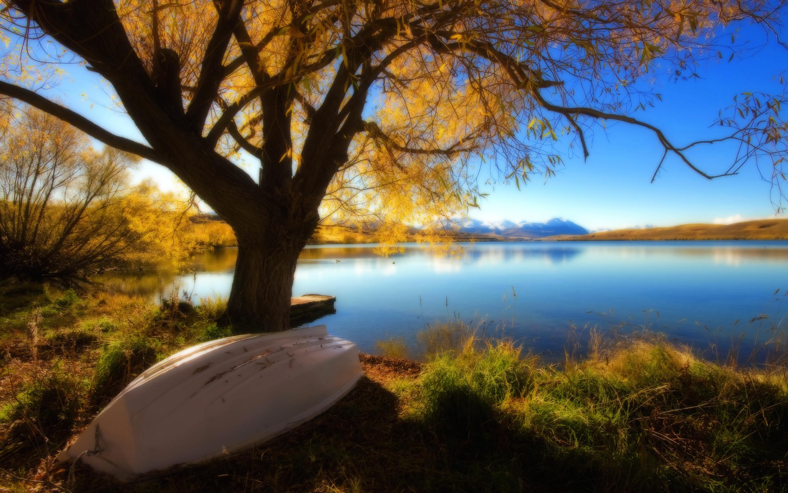 лодка в золотую осень без смс