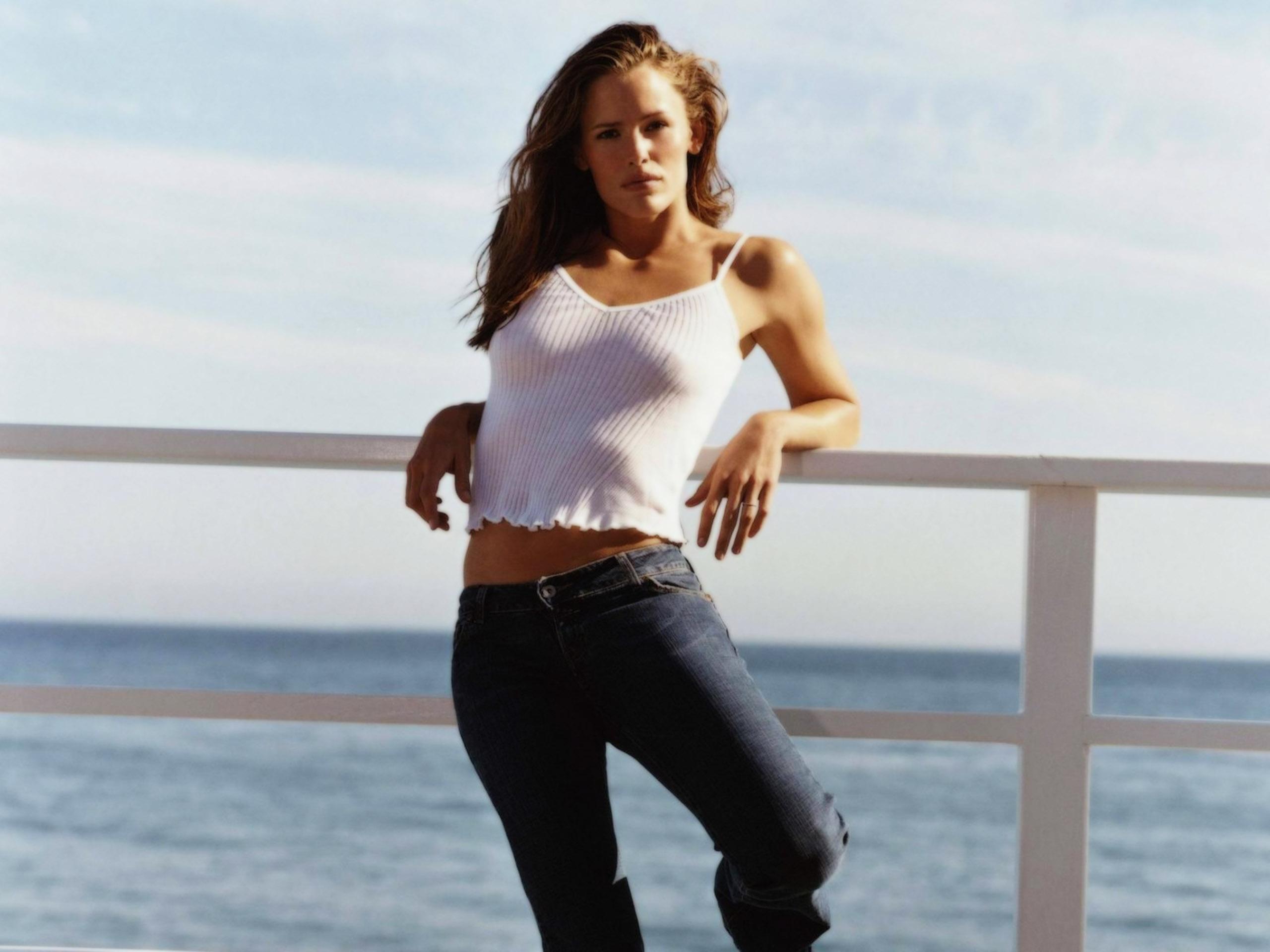 Jennifer garner wallpaper bikini