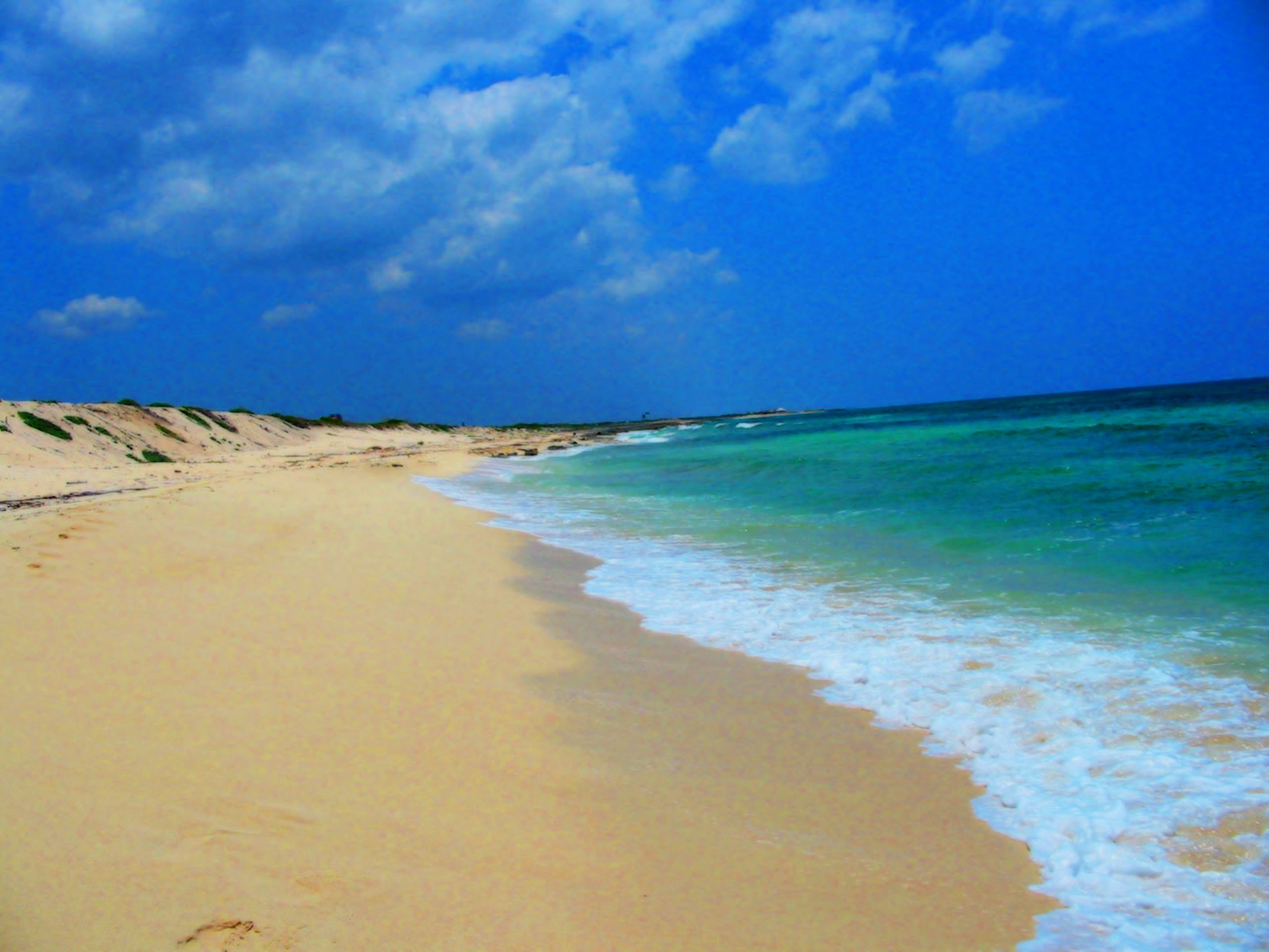 Amazing sand beach free desktop wallpapers for widescreen hd and wallpaper voltagebd Choice Image