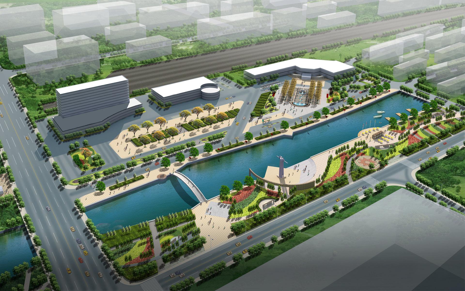 3d architectural city design - photo #5