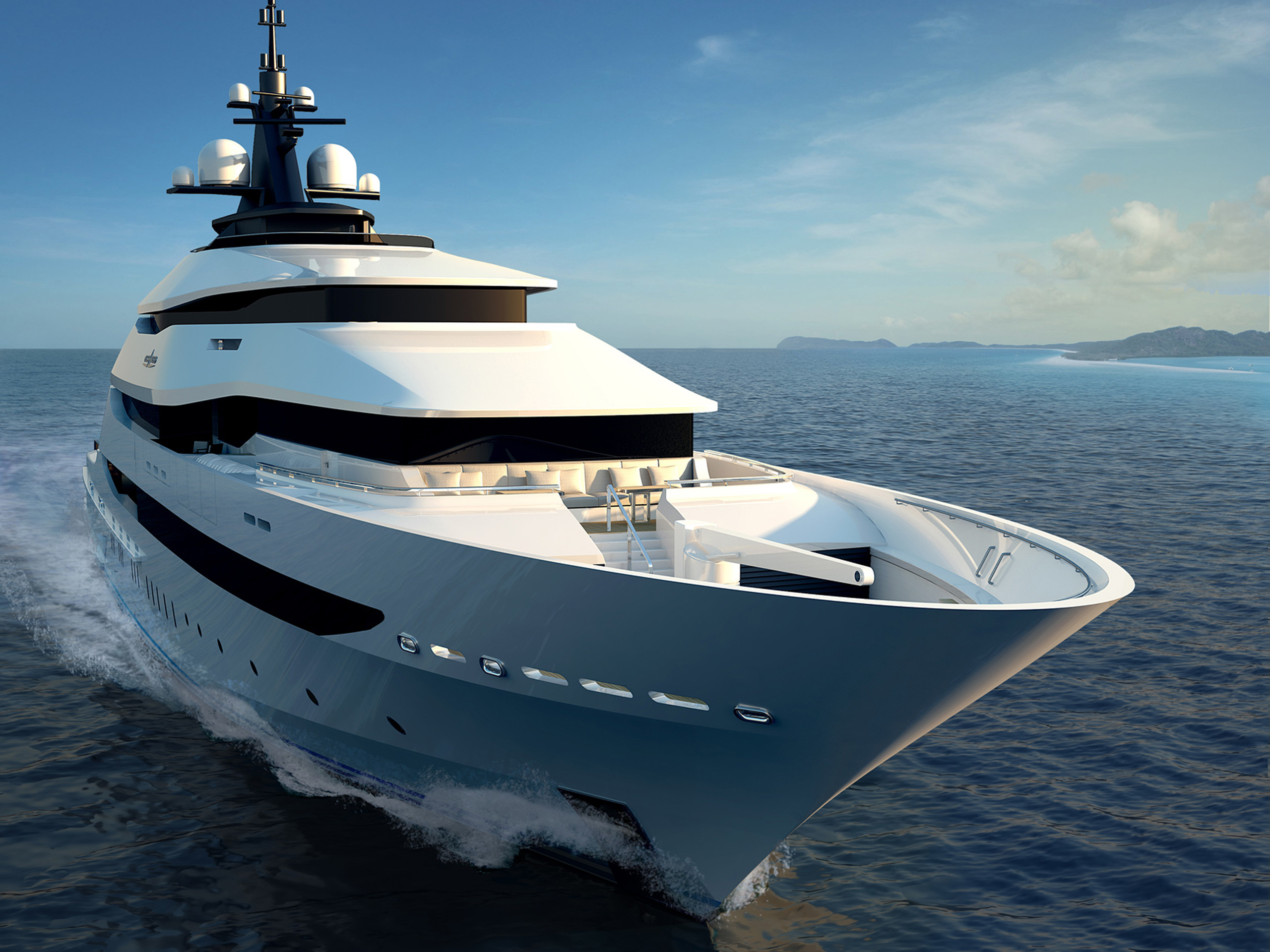 Yacht Y708 Front View