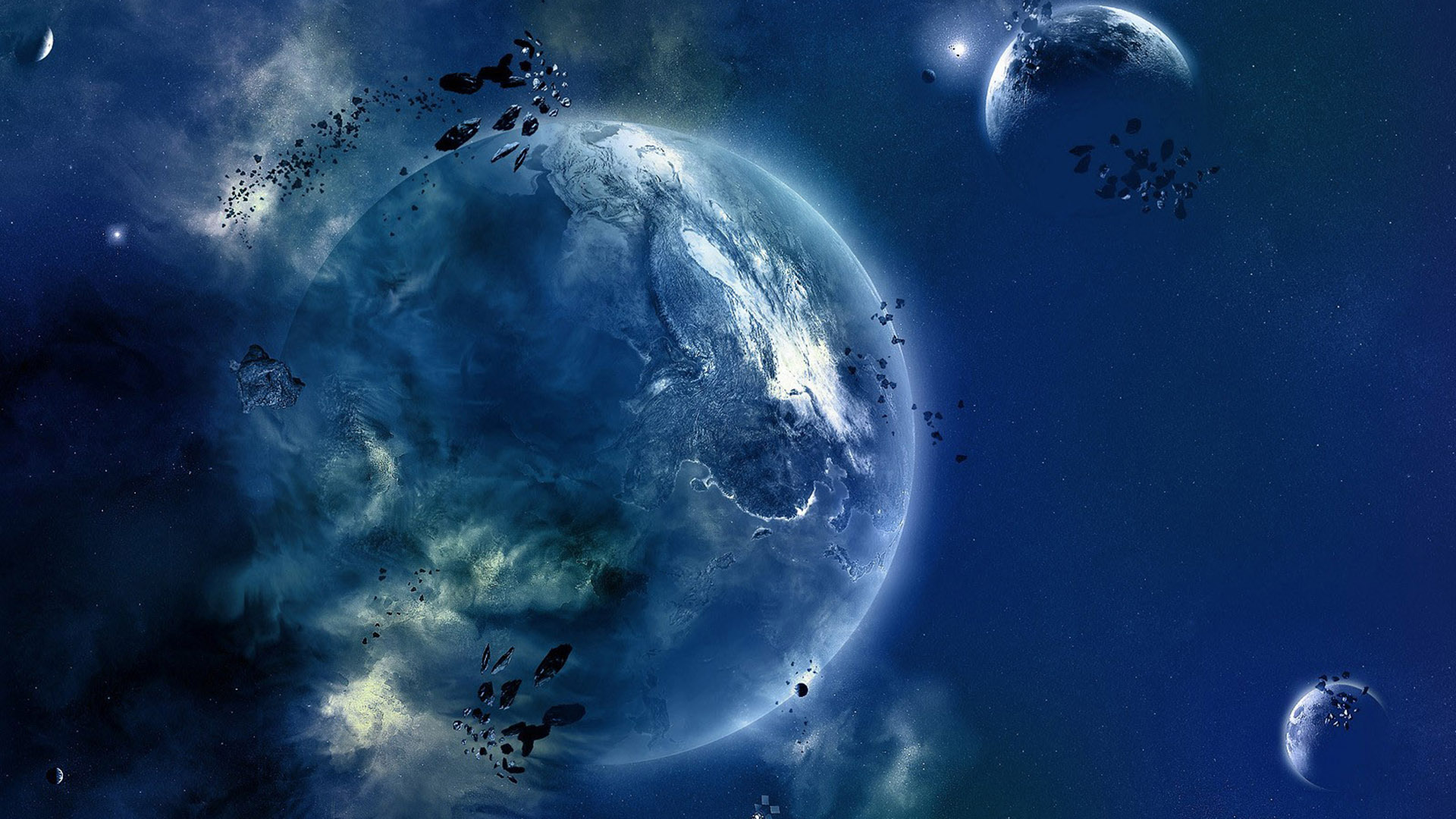 Fantasy space art free desktop wallpapers for widescreen hd and wallpaper voltagebd Images