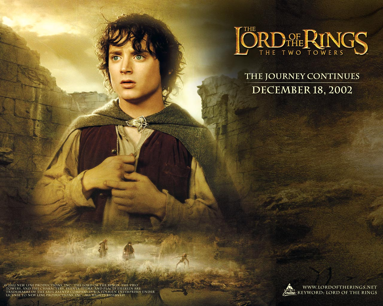 The Lord Of The Rings 2 Lord Of The Rings The Two Towers