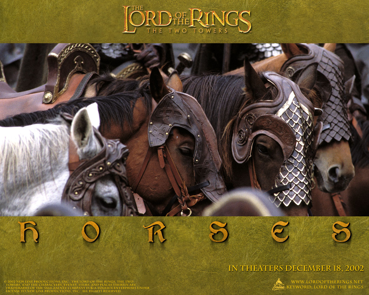Water horses lord of the rings - photo#3