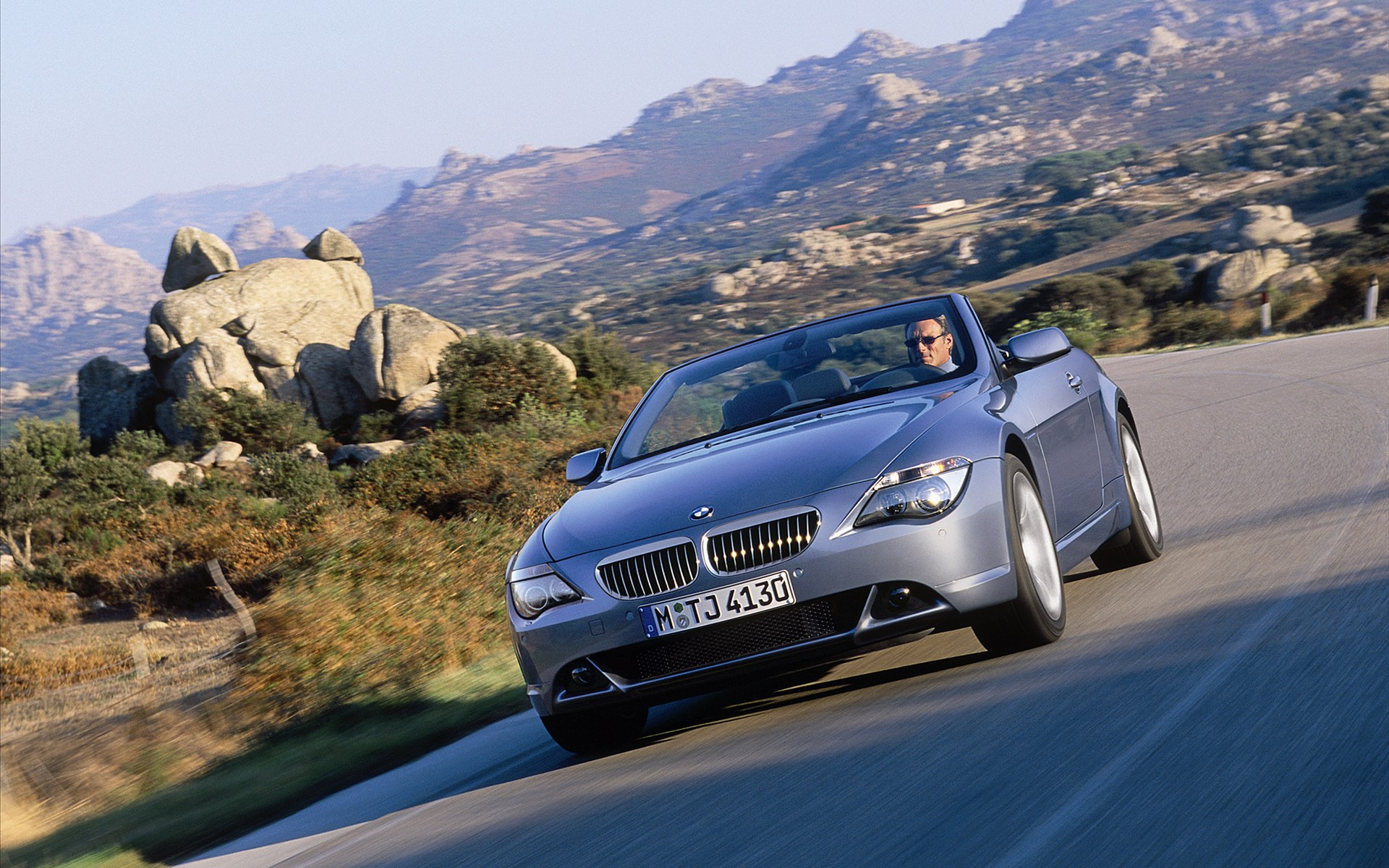Bmw 3 series convertible front angle road  № 850470 загрузить