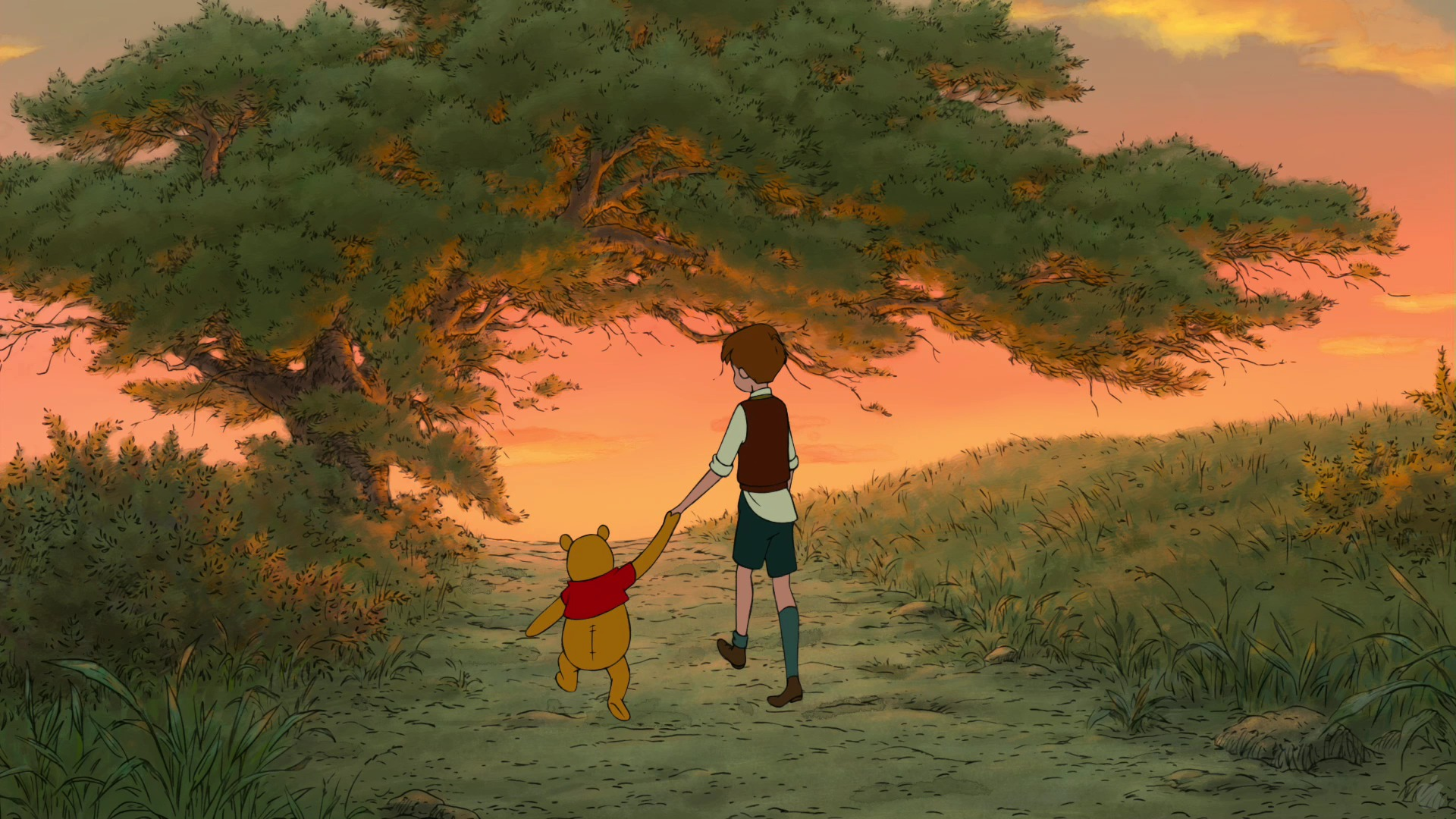 Famous winnie the pooh wallpaper winnie the pooh free desktop wallpapers for widescreen hd and voltagebd Gallery