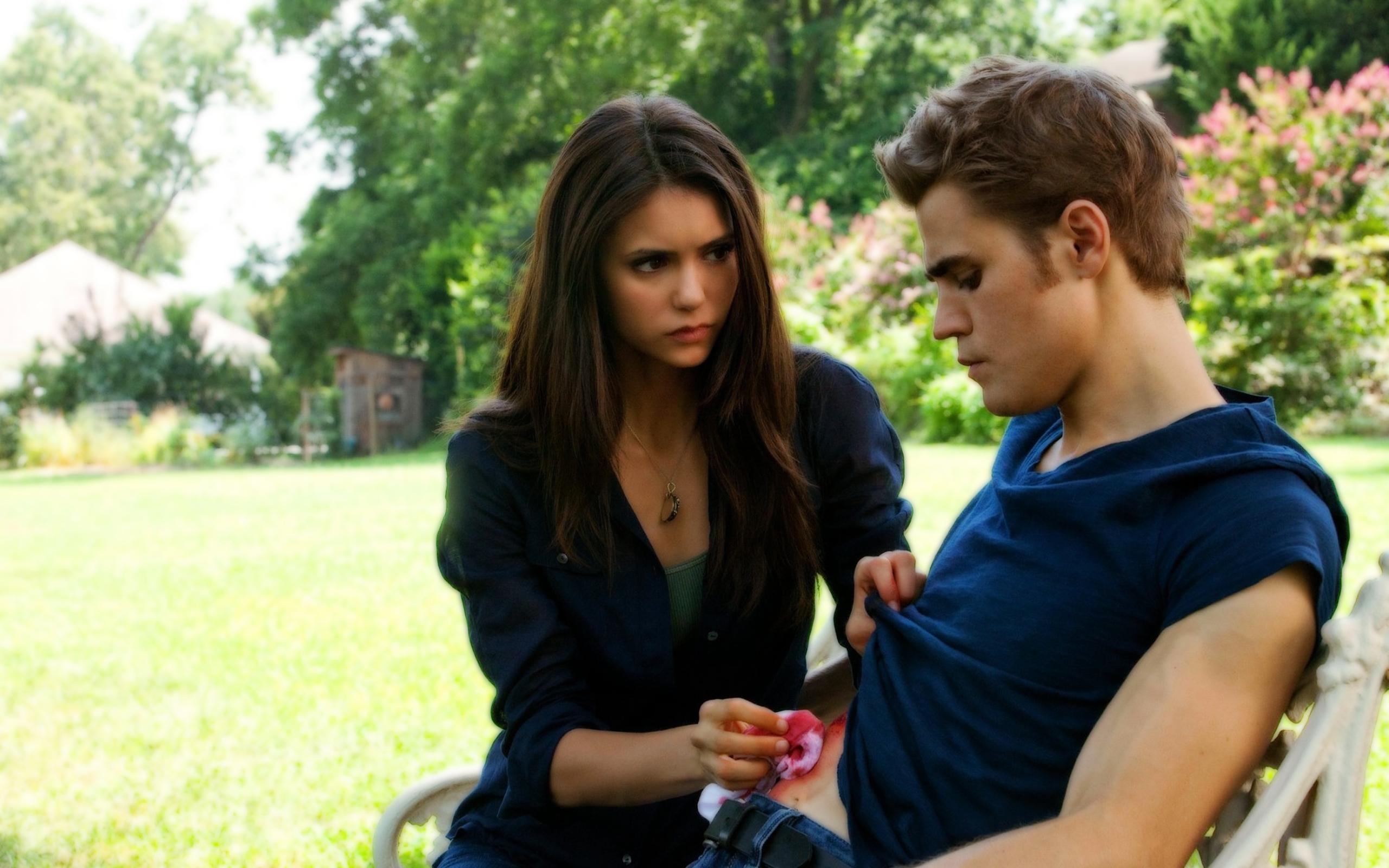 The Vampire Diaries Katherine and Elena