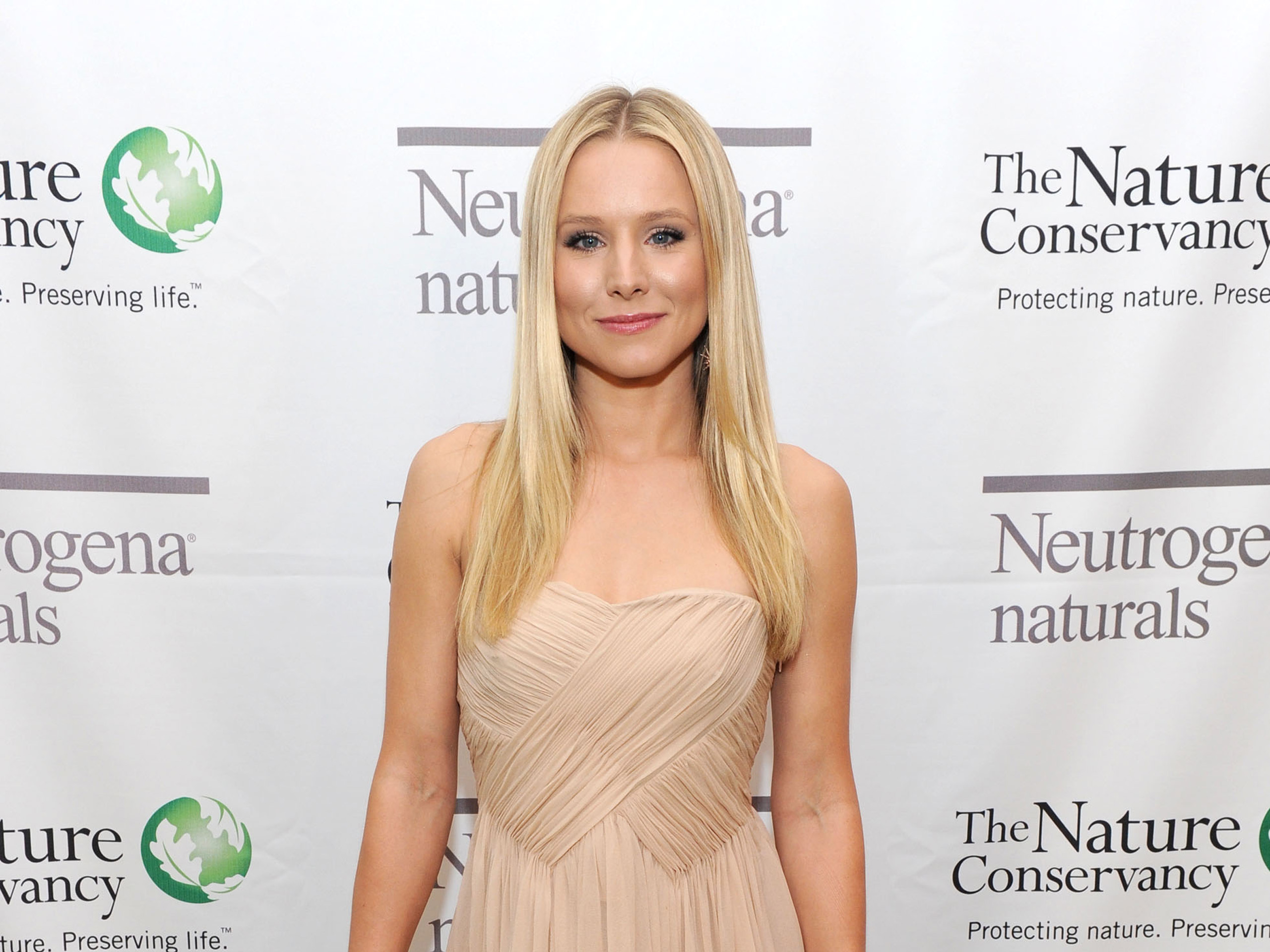 Kristen bell at nature conservancy