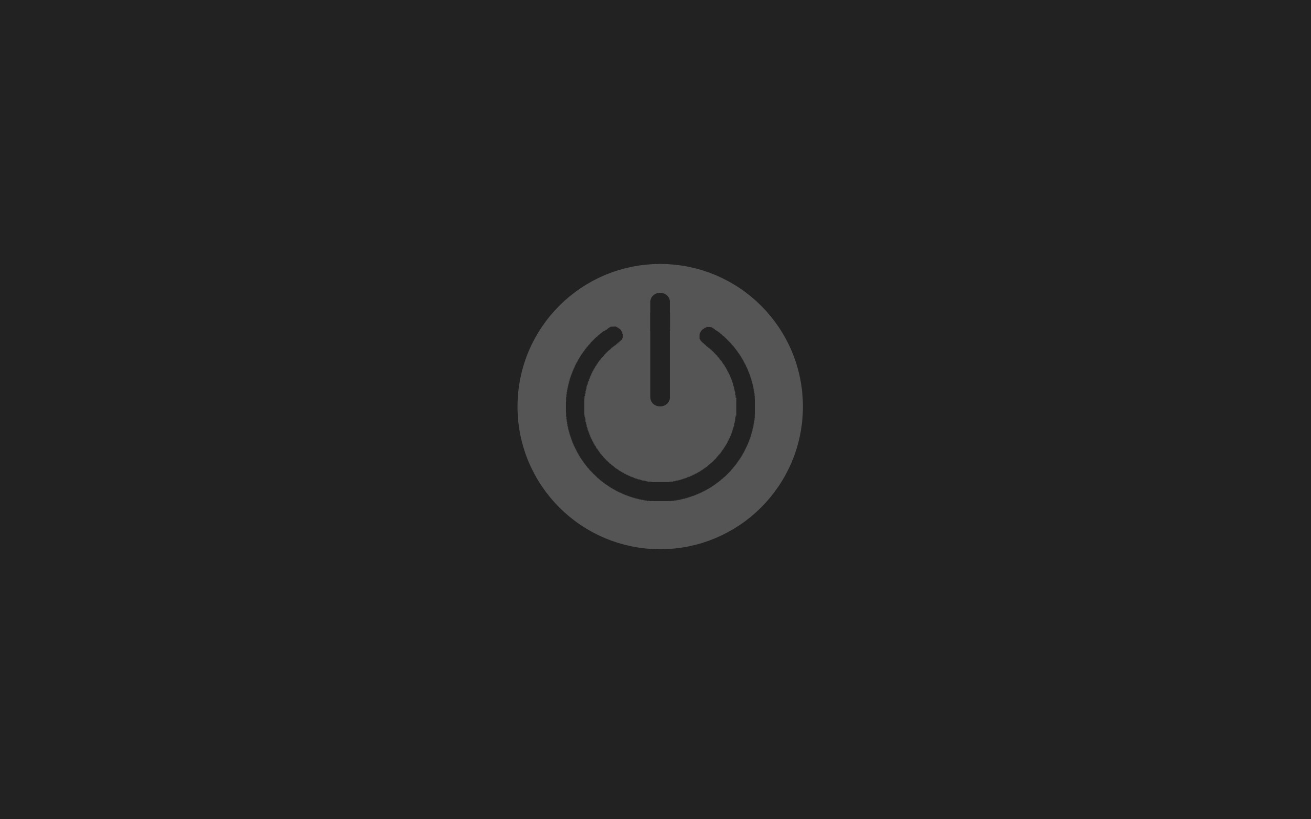 Central Wallpaper: Minimal <b>Power Button</b> Logos HD Wallpapers