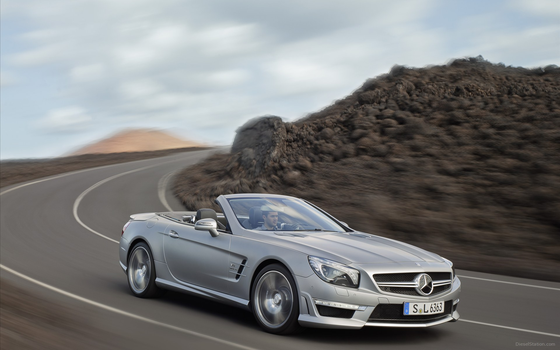 Exceptionnel Mercedes Benz SL63 AMG3
