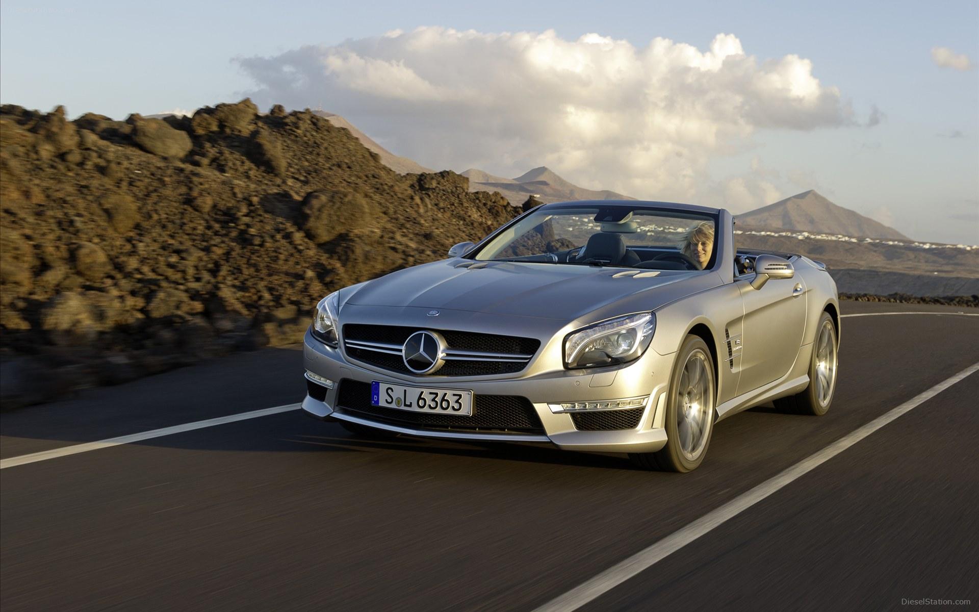 Bon Mercedes Benz SL63 AMG3