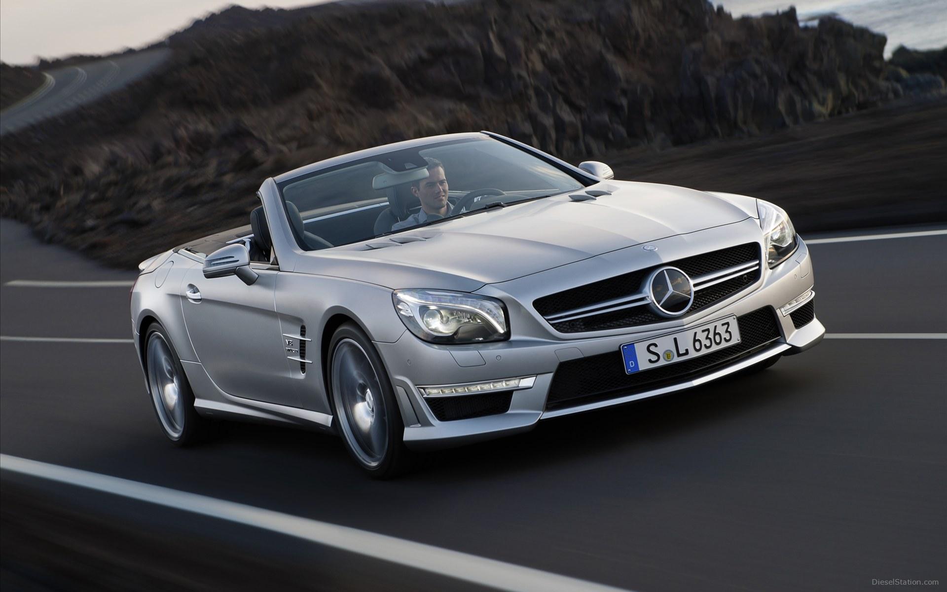 Mercedes Benz SL63 AMG3 Good Ideas