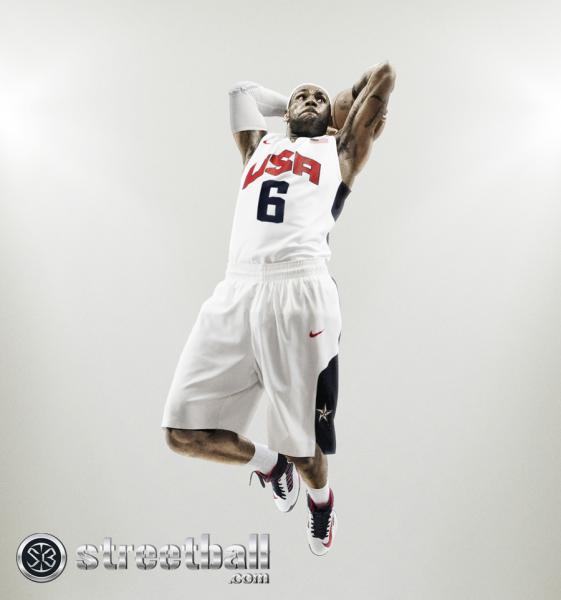 LeBron James Nike Team USA Basketball Jersey 2012