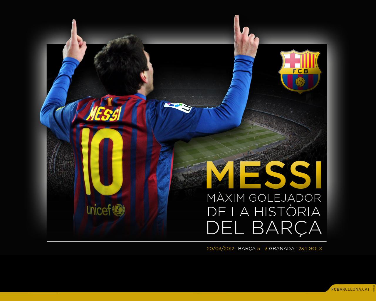 Most Inspiring Wallpaper Logo Messi - FCB_messi_maxim_golejador-cat  Gallery_4792100.jpg