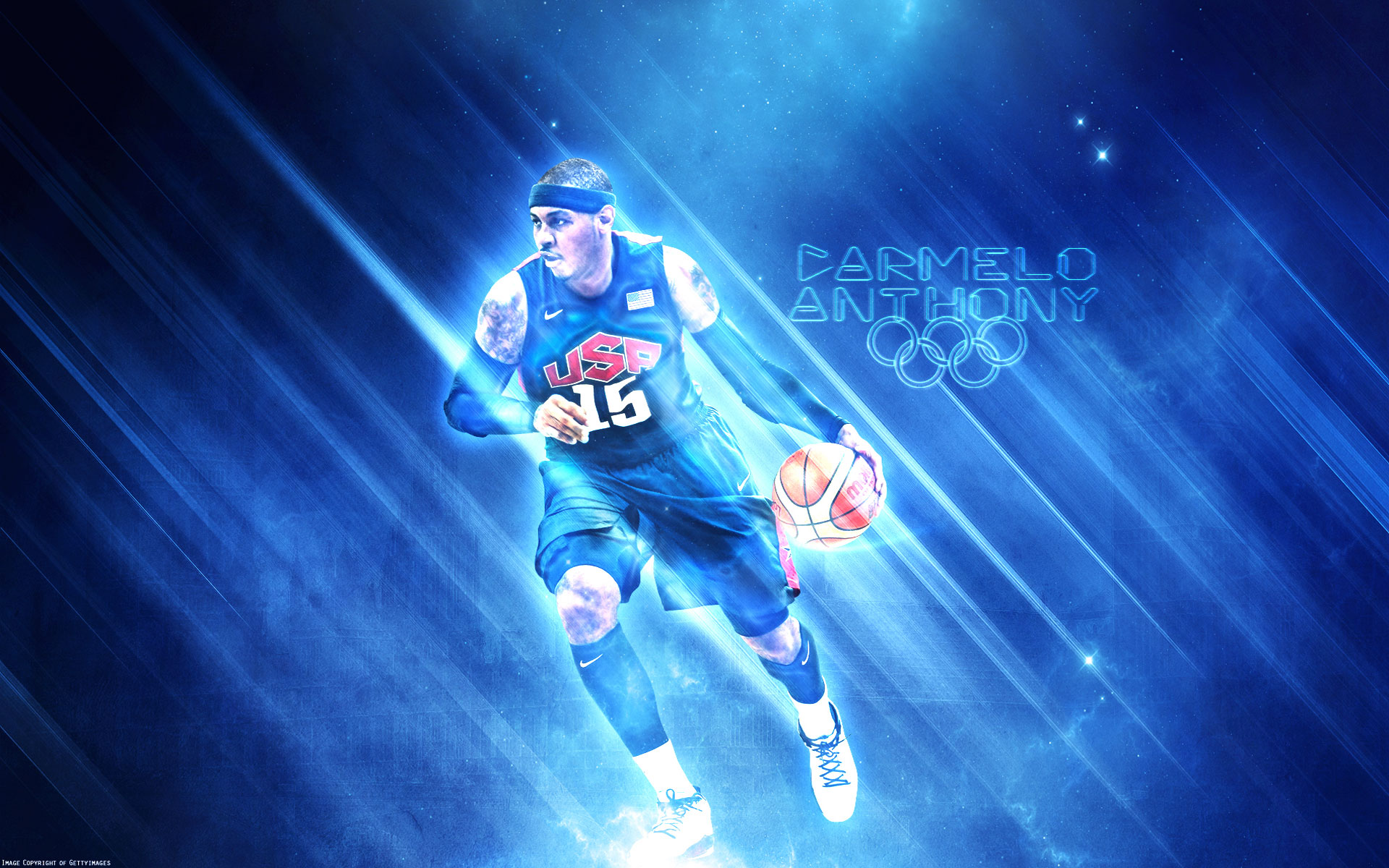 Carmelo anthony olympics20x1200 wallpaper basketwallpapers wallpaper voltagebd Images