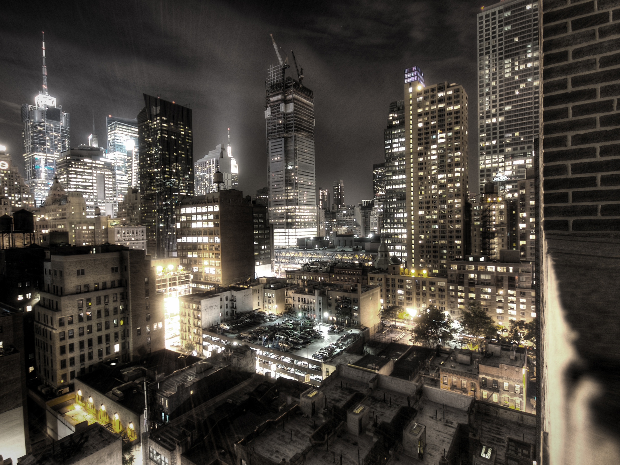 New york for New york 3d wallpaper