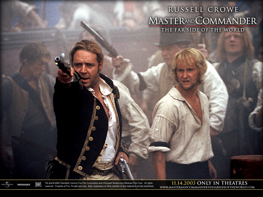 master and commander The definitive parents' guide to movies and video since 1992, kids-in-mind rates films according to how much sex, nudity, violence, gore and profanity they contain.