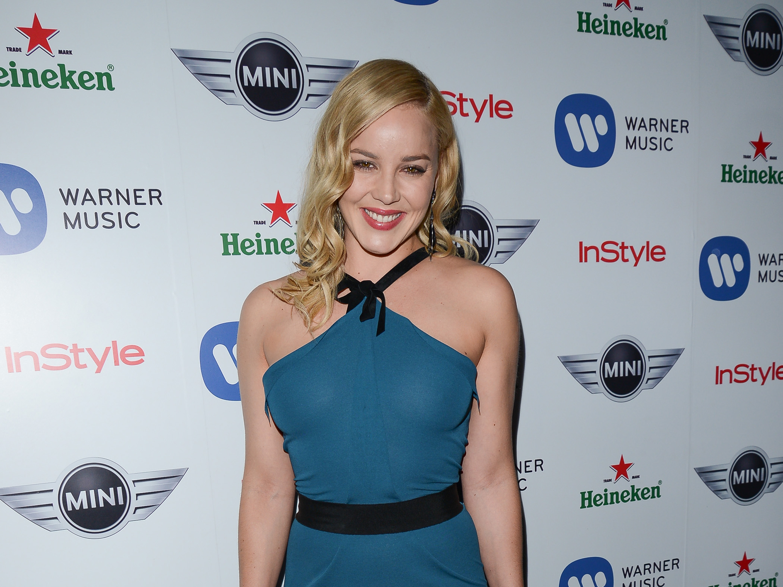 Abbie Cornish Warner Music Groups3 Grammy Celebration In Hollywood Abbie Cornish