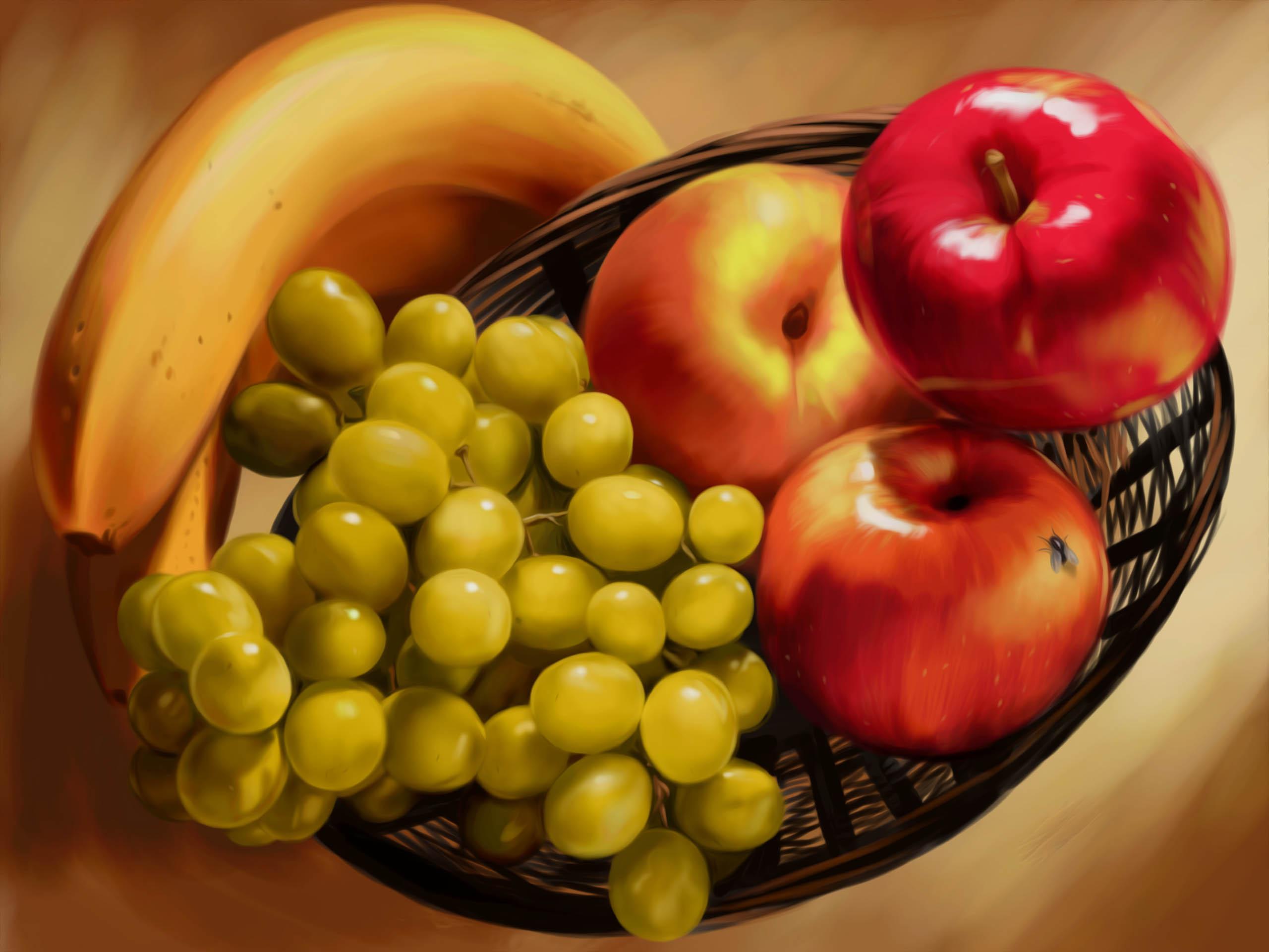 Живопись фрукты фото 3