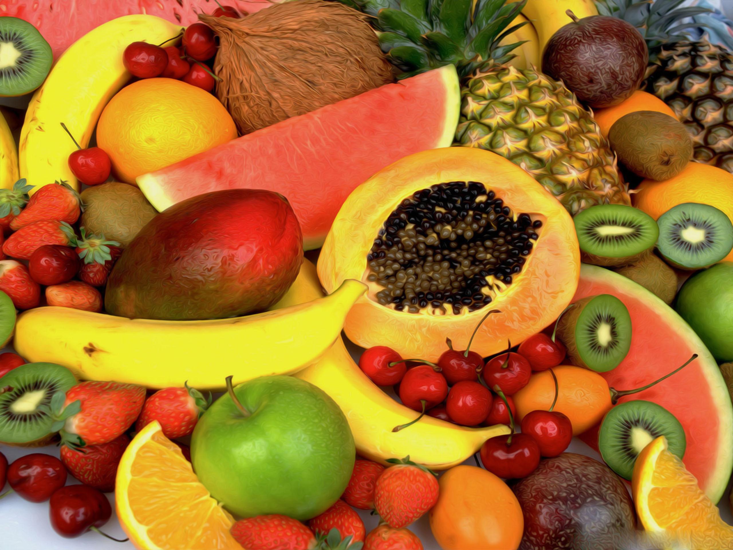 fresh fruit summer fruits