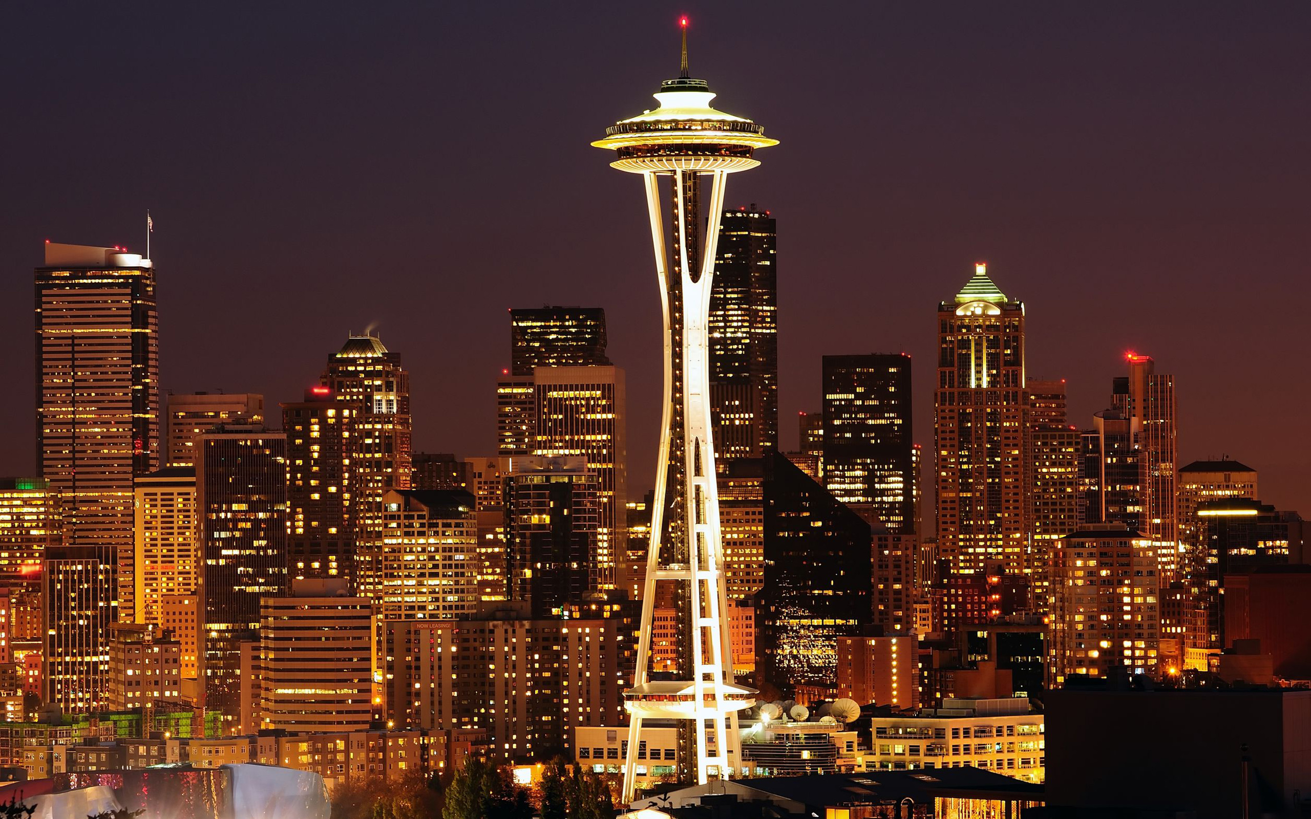 city seattle free desktop wallpapers for widescreen hd