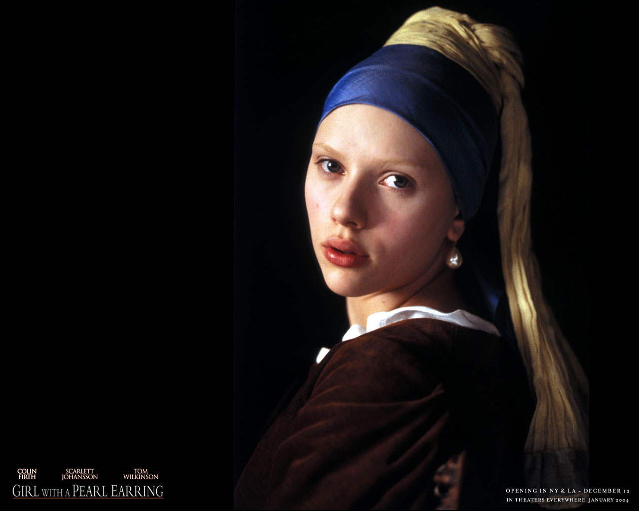 Girl with a Pearl Earring A Girl With A Pearl Earring