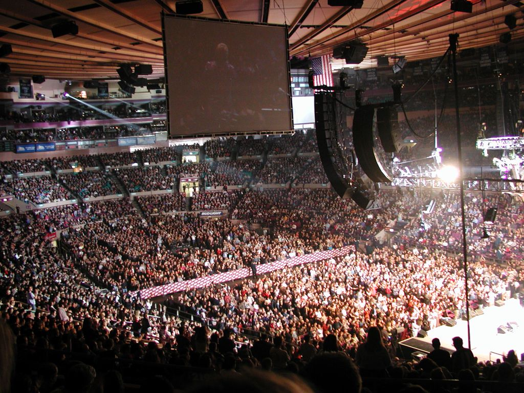 Image gallery madison square garden concert The killers madison square garden